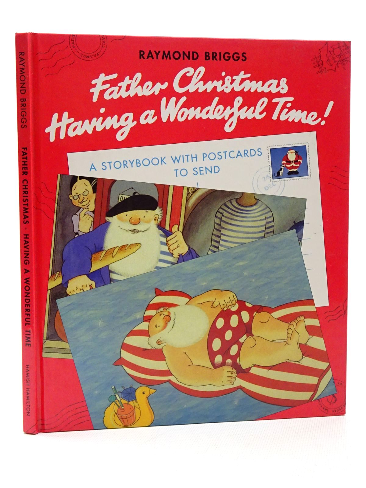 Photo of FATHER CHRISTMAS HAVING A WONDERFUL TIME!- Stock Number: 2124301