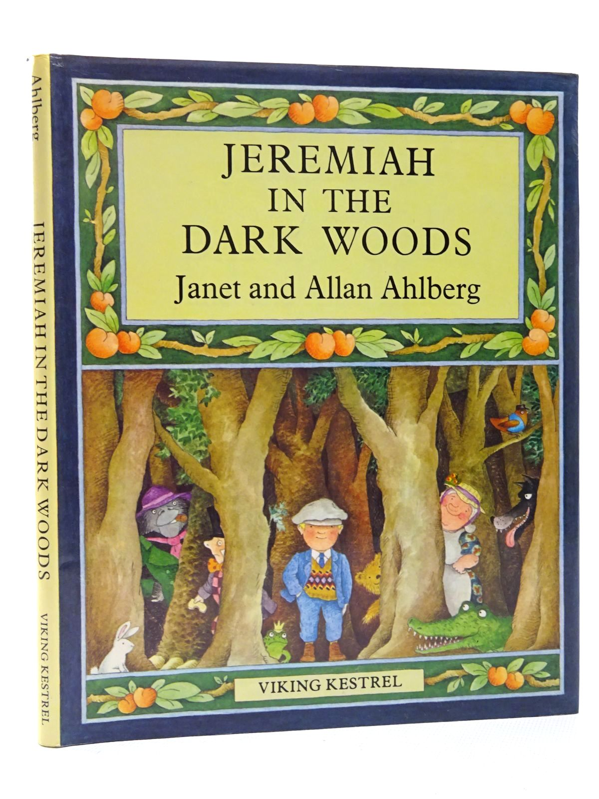 Photo of JEREMIAH IN THE DARK WOODS written by Ahlberg, Allan illustrated by Ahlberg, Janet published by Viking Kestrel (STOCK CODE: 2124368)  for sale by Stella & Rose's Books