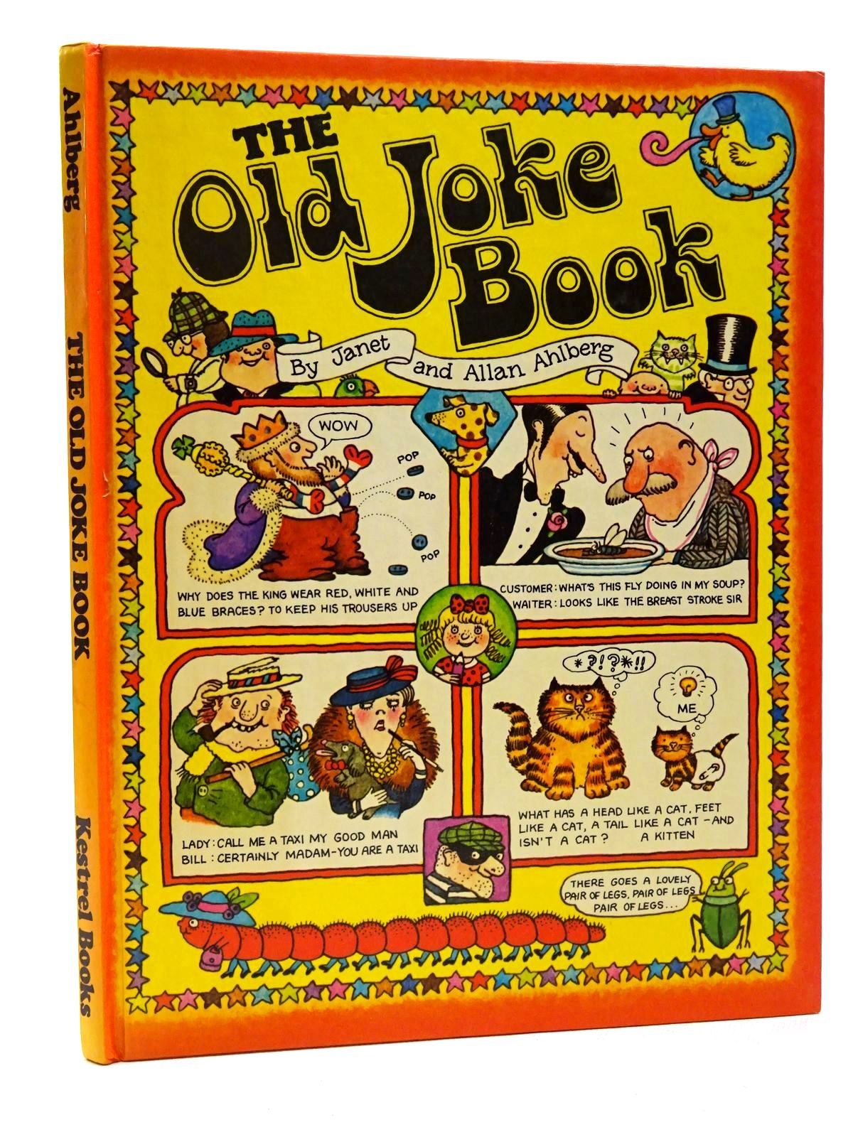 Photo of THE OLD JOKE BOOK written by Ahlberg, Allan illustrated by Ahlberg, Janet published by Kestrel Books (STOCK CODE: 2124369)  for sale by Stella & Rose's Books