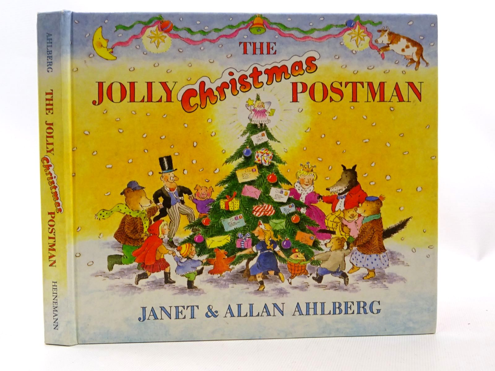 Photo of THE JOLLY CHRISTMAS POSTMAN written by Ahlberg, Allan illustrated by Ahlberg, Janet published by Heinemann (STOCK CODE: 2124374)  for sale by Stella & Rose's Books