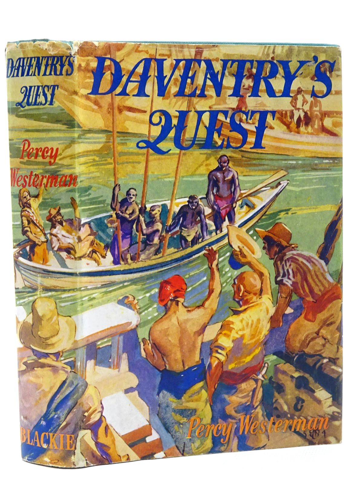 Photo of DAVENTRY'S QUEST written by Westerman, Percy F. illustrated by Jobson, P.A. published by Blackie & Son Ltd. (STOCK CODE: 2124388)  for sale by Stella & Rose's Books