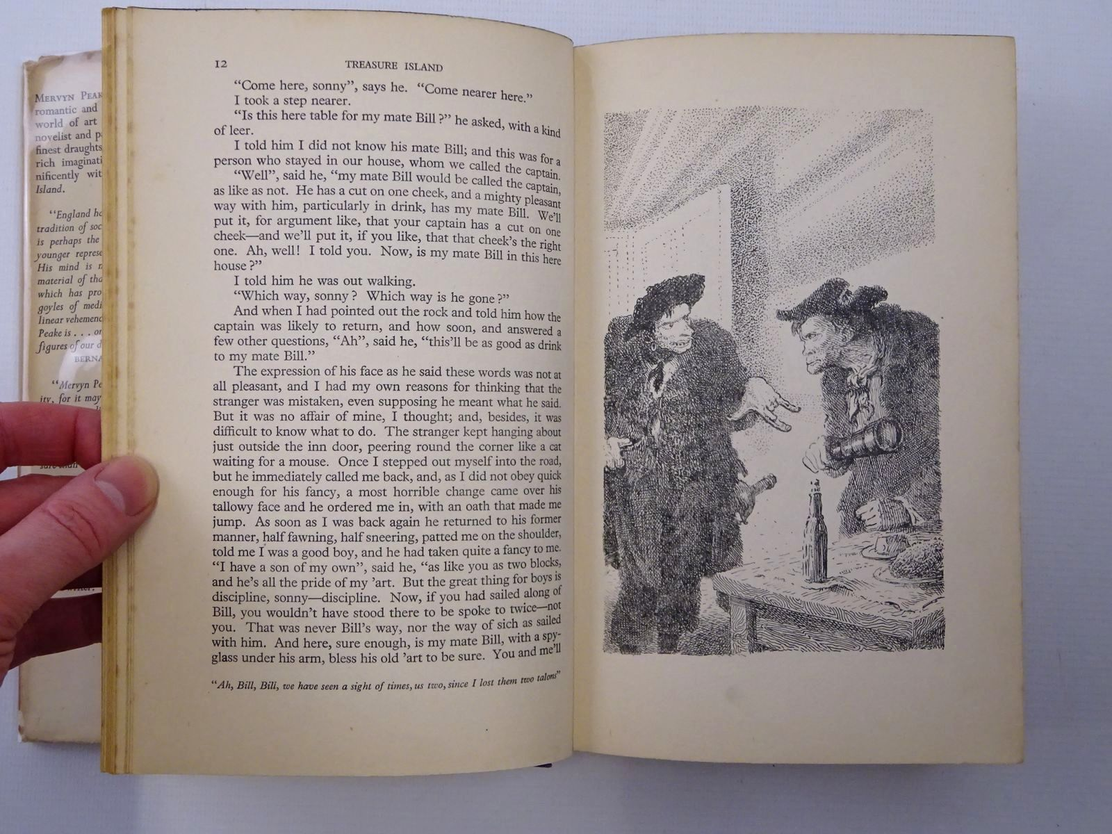 Photo of TREASURE ISLAND written by Stevenson, Robert Louis illustrated by Peake, Mervyn published by Eyre & Spottiswoode (STOCK CODE: 2124395)  for sale by Stella & Rose's Books
