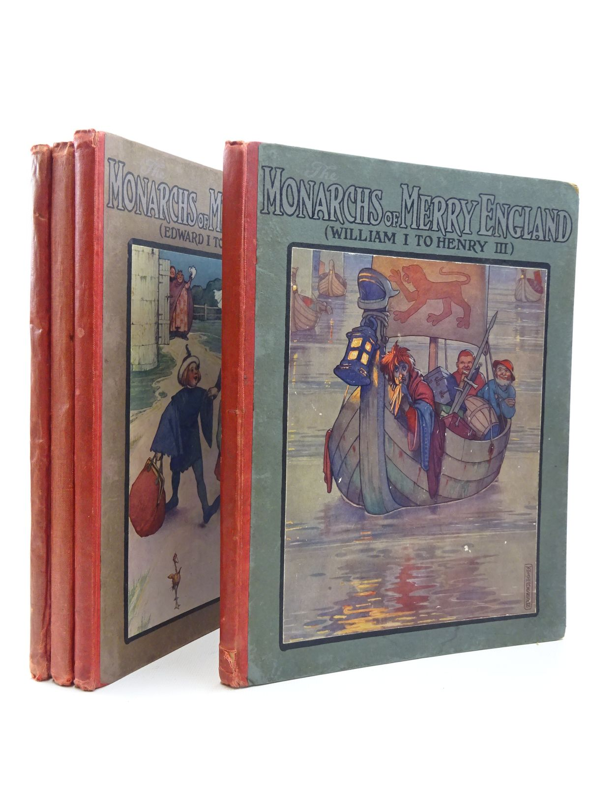 Photo of THE MONARCHS OF MERRY ENGLAND (4 VOLUMES)- Stock Number: 2124402