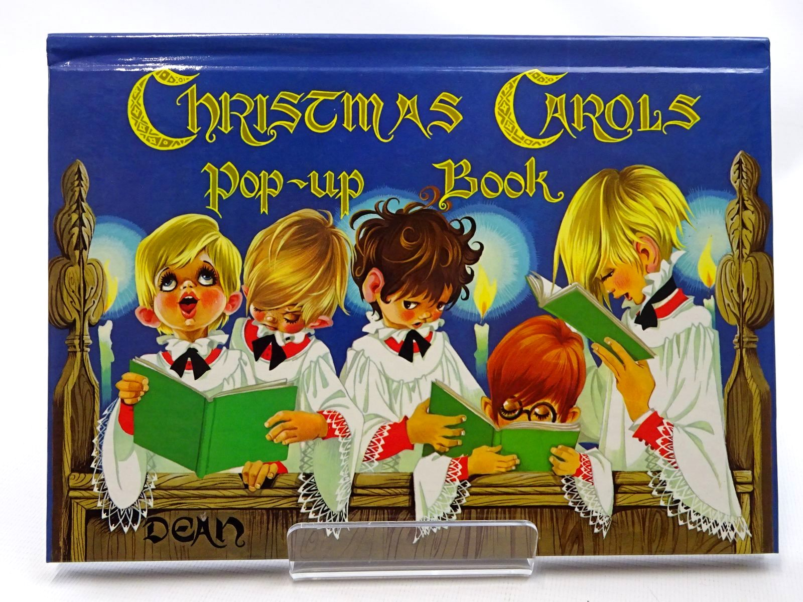 Photo of CHRISTMAS CAROLS POP-UP BOOK illustrated by Johnstone, Janet Grahame