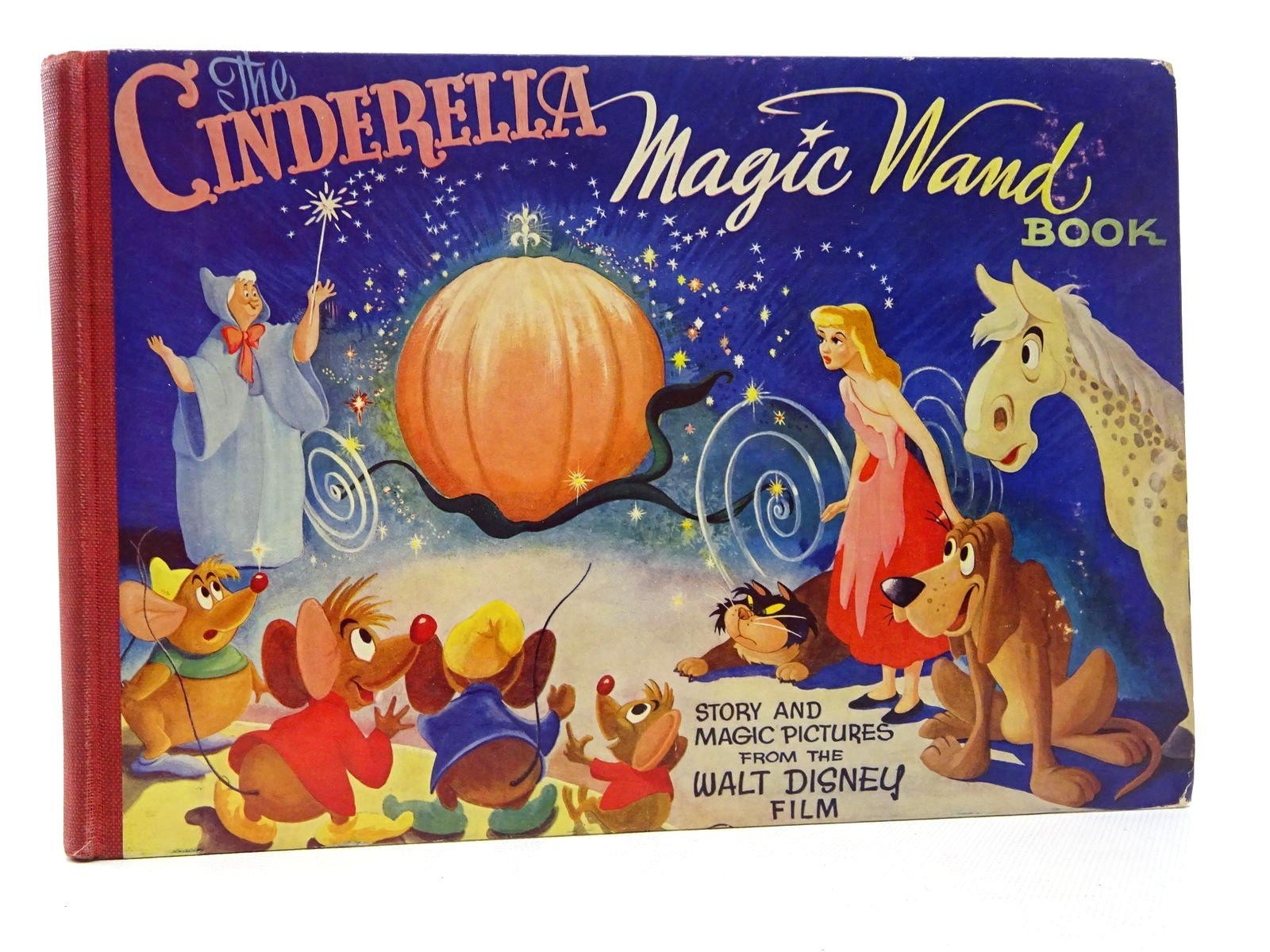 Photo of THE CINDERELLA MAGIC WAND BOOK- Stock Number: 2124504
