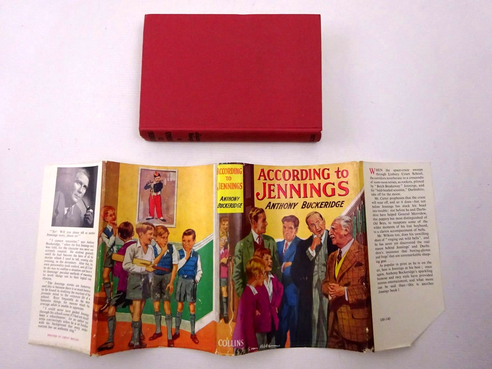 Photo of ACCORDING TO JENNINGS written by Buckeridge, Anthony published by Collins (STOCK CODE: 2124507)  for sale by Stella & Rose's Books