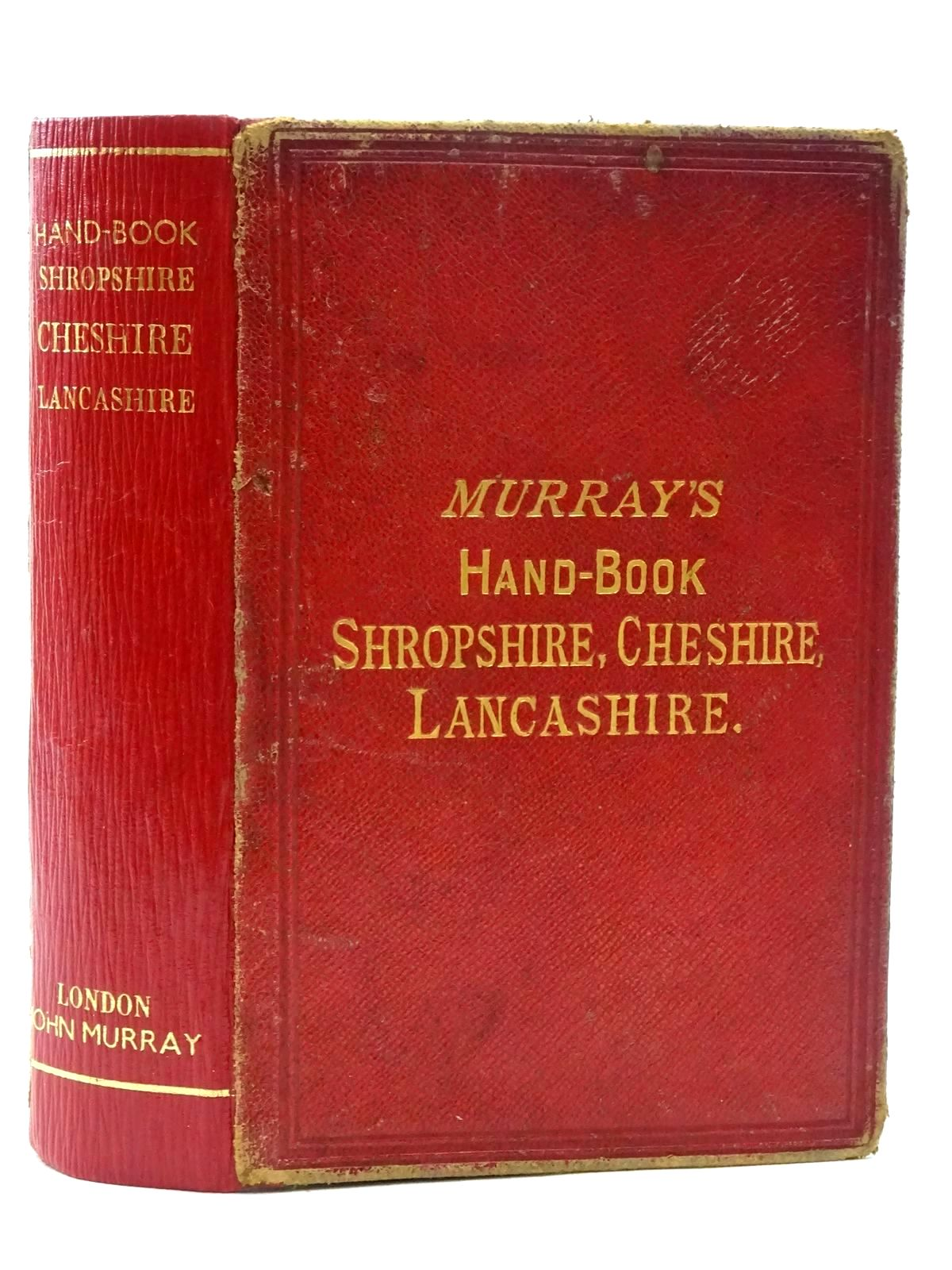 Photo of HANDBOOK FOR SHROPSHIRE, CHESHIRE AND LANCASHIRE published by John Murray (STOCK CODE: 2124520)  for sale by Stella & Rose's Books