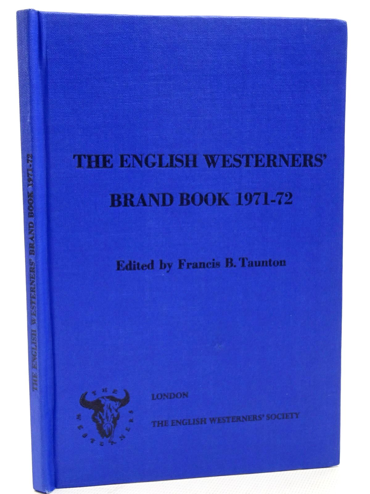 Photo of THE ENGLISH WESTERNERS' BRAND BOOK 1971-72- Stock Number: 2124547
