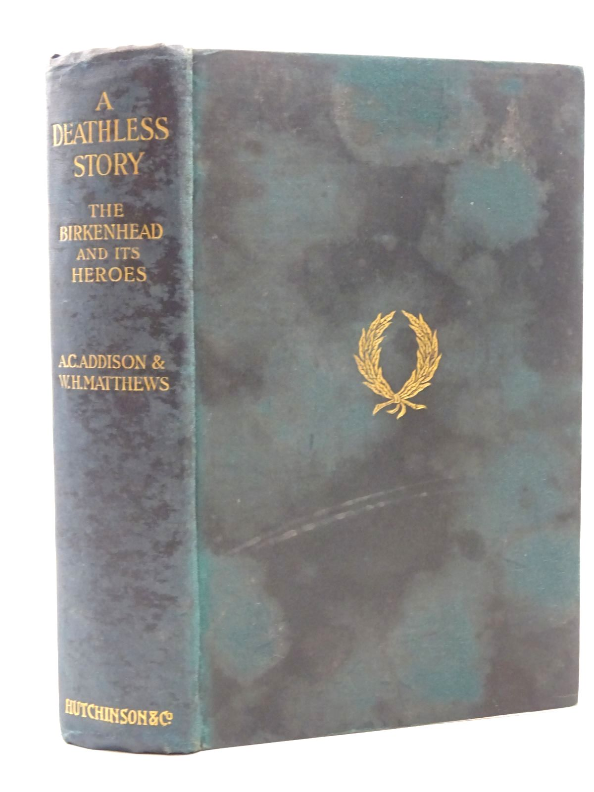 Photo of A DEATHLESS STORY OR THE 'BIRKENHEAD' AND ITS HEROES- Stock Number: 2124574