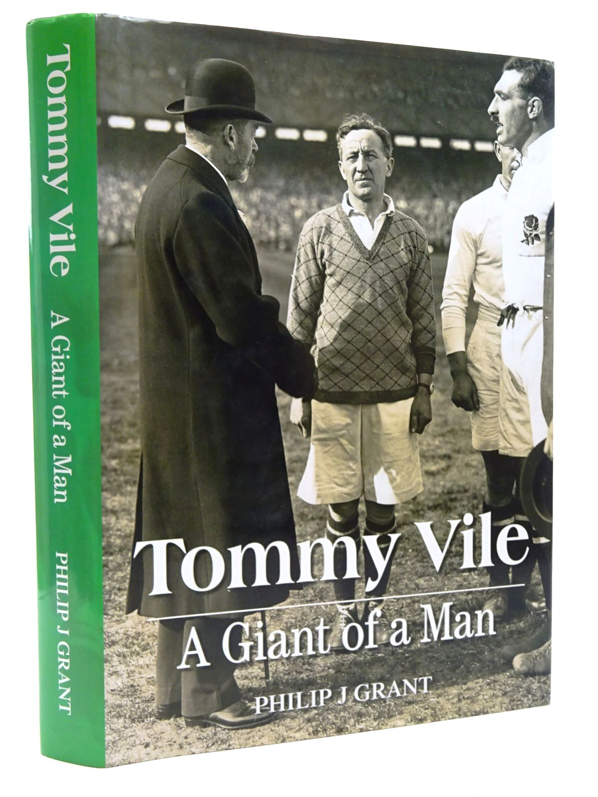 Photo of TOMMY VILE: A GIANT OF A MAN written by Grant, Philip J. published by Gomer Press (STOCK CODE: 2124603)  for sale by Stella & Rose's Books