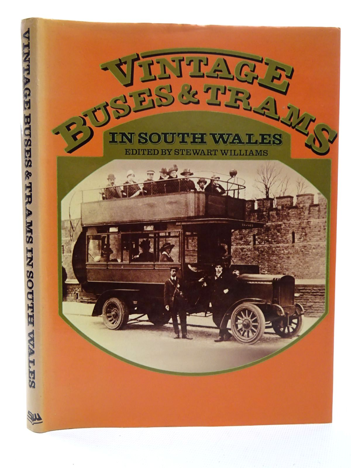 Photo of VINTAGE BUSES & TRAMS IN SOUTH WALES written by Williams, Stewart published by Stewart Williams (STOCK CODE: 2124604)  for sale by Stella & Rose's Books
