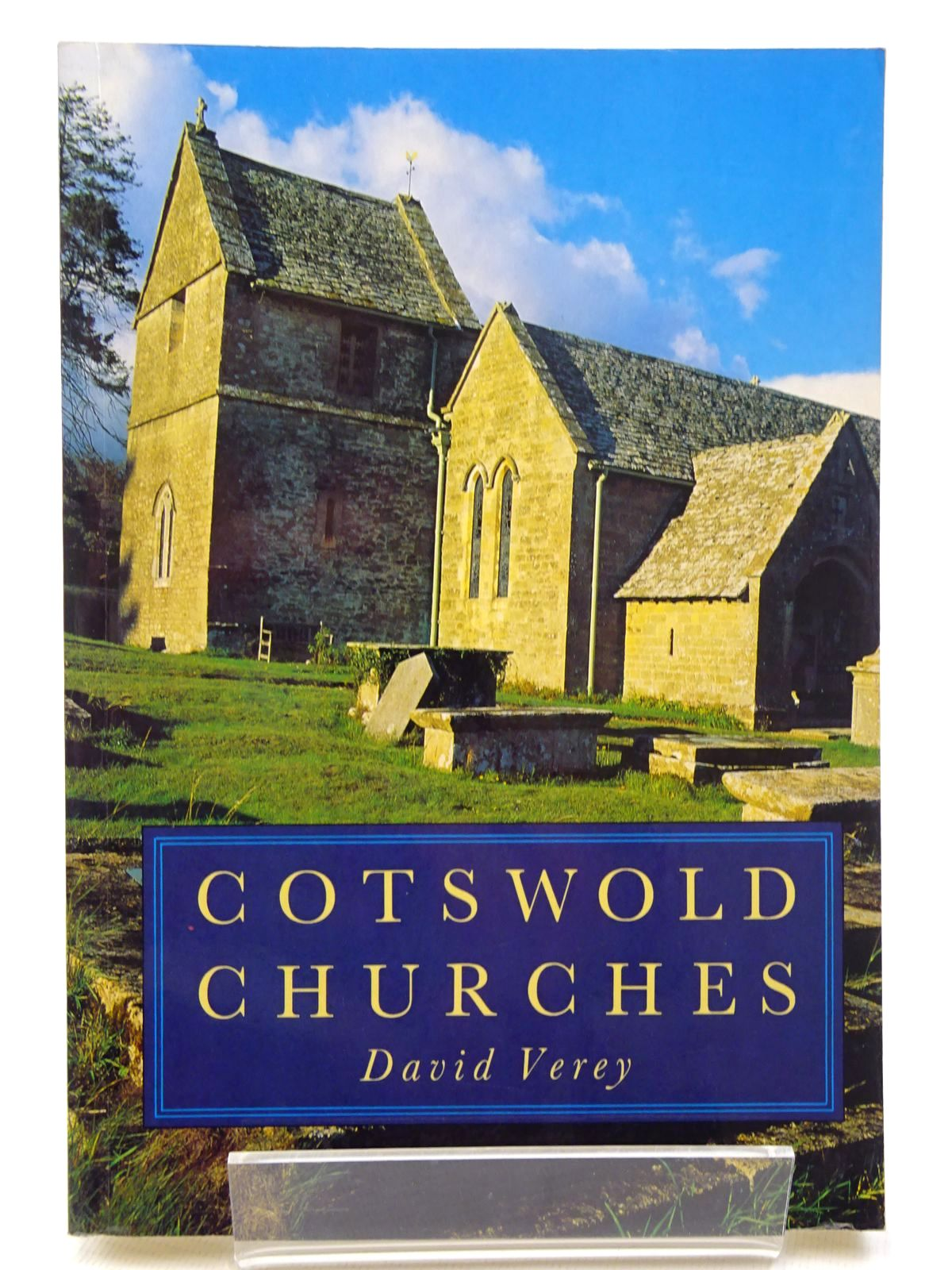 Photo of COTSWOLD CHURCHES written by Verey, David published by Alan Sutton (STOCK CODE: 2124613)  for sale by Stella & Rose's Books