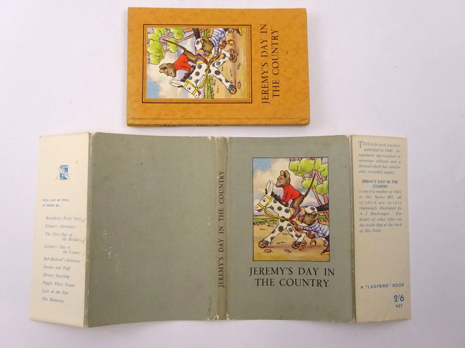 Photo of JEREMY'S DAY IN THE COUNTRY written by Macgregor, A.J. Perring, W. illustrated by Macgregor, A.J. published by Wills & Hepworth Ltd. (STOCK CODE: 2124620)  for sale by Stella & Rose's Books