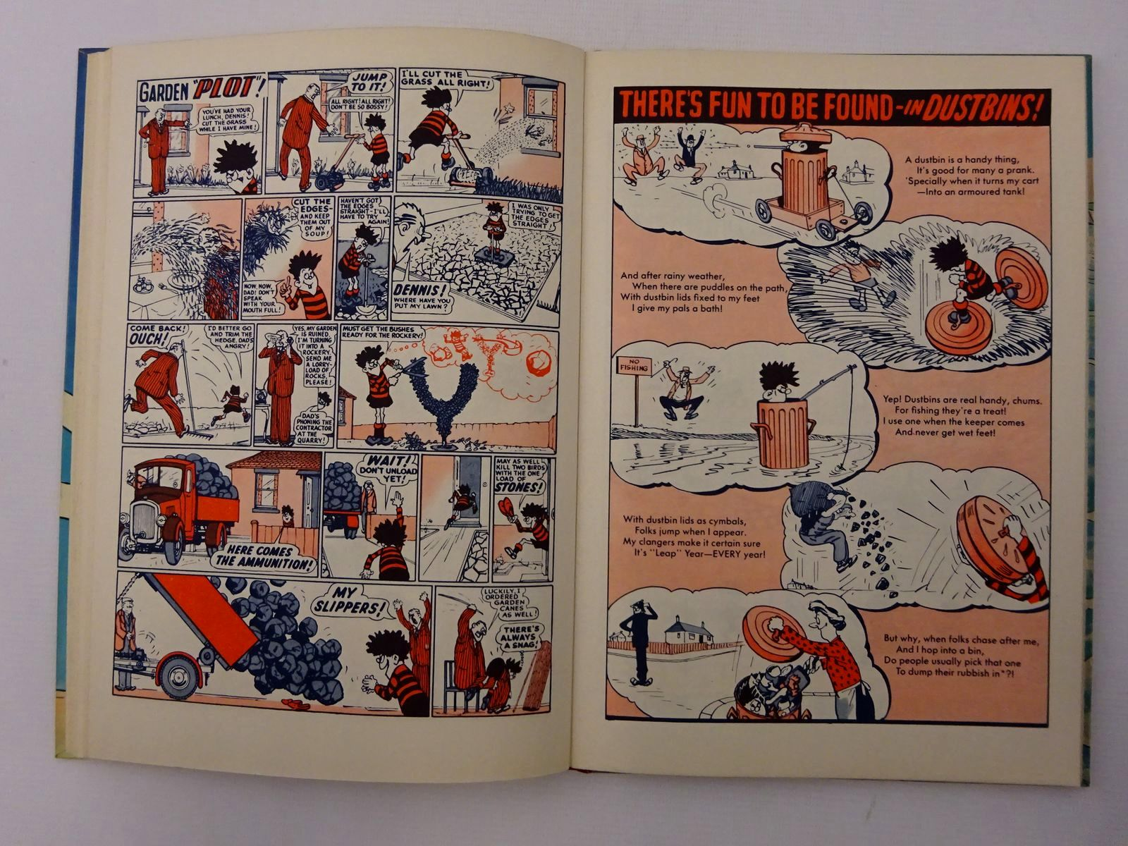 Photo of DENNIS THE MENACE 1960 published by D.C. Thomson & Co Ltd. (STOCK CODE: 2124622)  for sale by Stella & Rose's Books