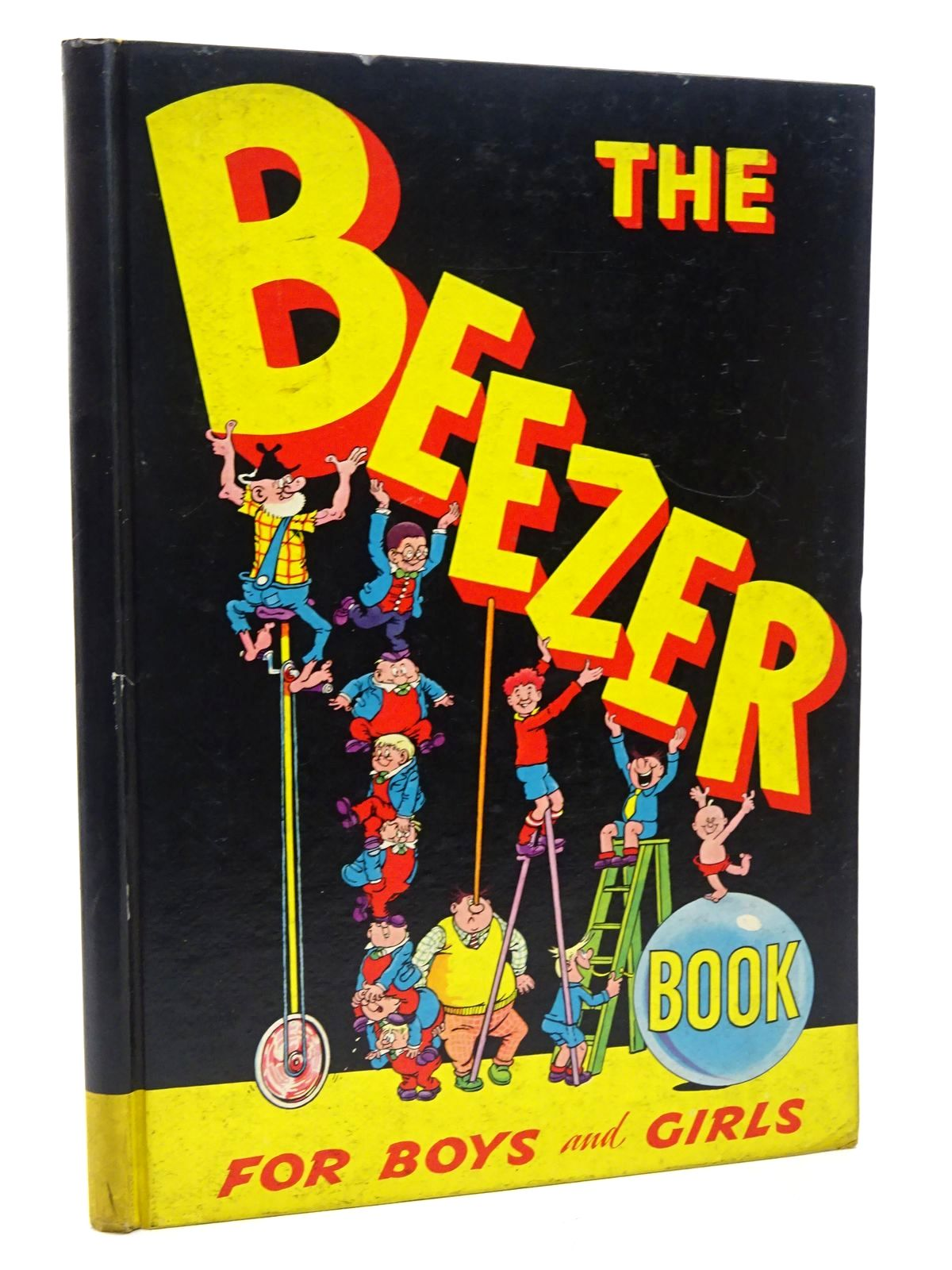 Photo of THE BEEZER BOOK 1959 published by D.C. Thomson & Co Ltd. (STOCK CODE: 2124639)  for sale by Stella & Rose's Books