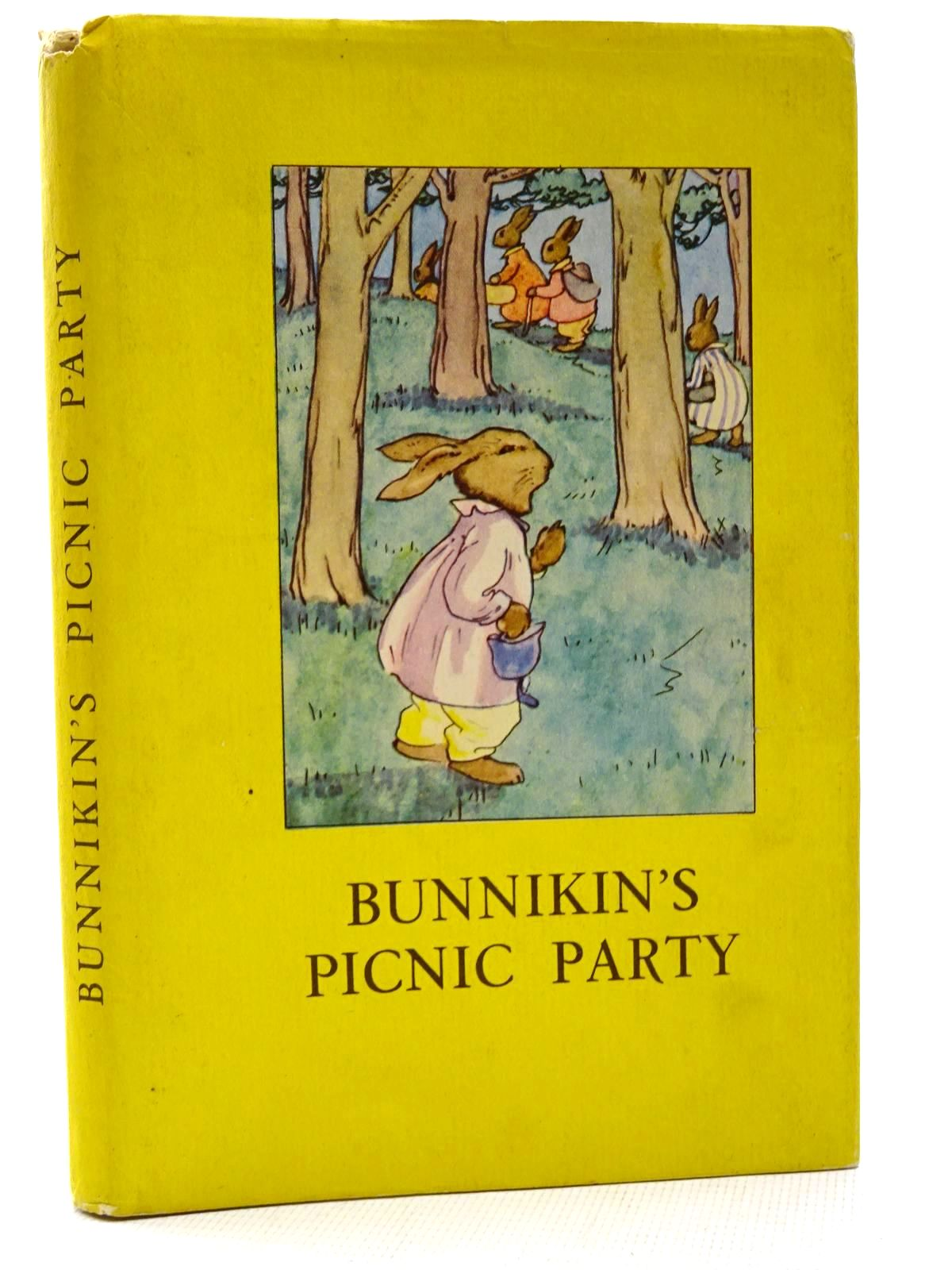 Photo of BUNNIKIN'S PICNIC PARTY written by Macgregor, A.J.<br />Perring, W. illustrated by Macgregor, A.J. published by Wills &amp; Hepworth Ltd. (STOCK CODE: 2124657)  for sale by Stella & Rose's Books
