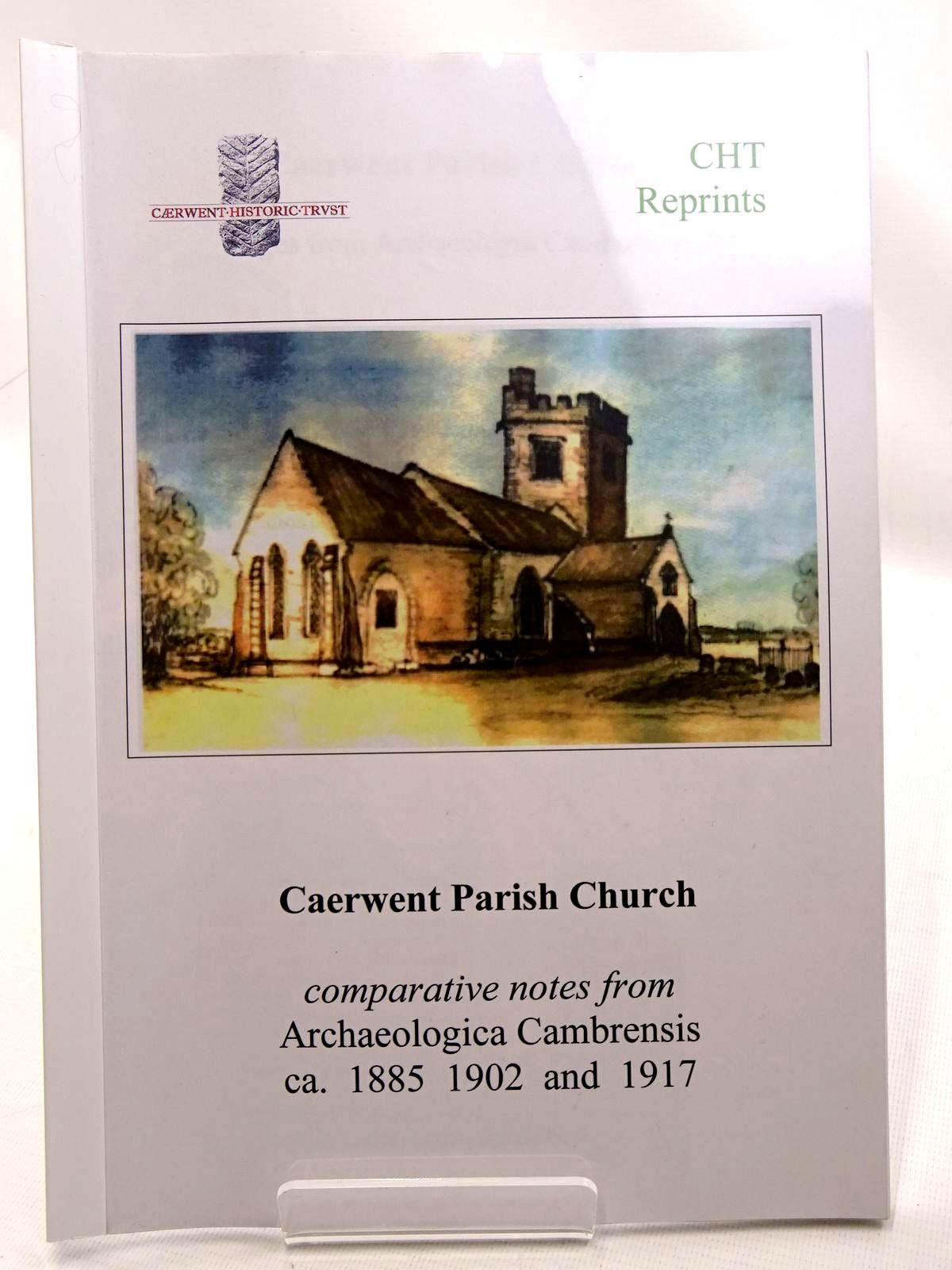 Photo of CAERWENT PARISH CHURCH PAGES FROM ARCHAEOLOGIA CAMBRENSIS- Stock Number: 2124686