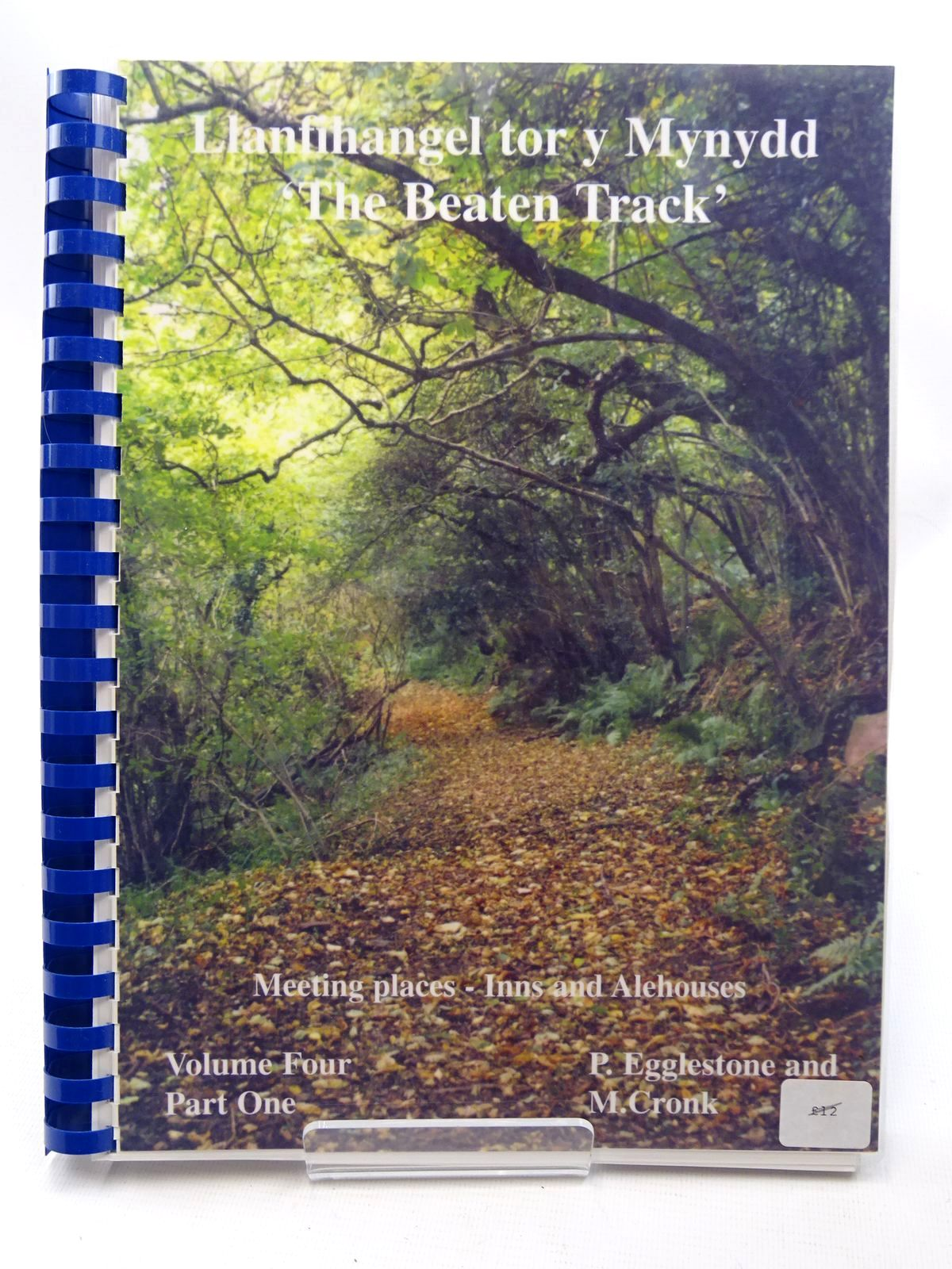 Photo of LLANFIHANGEL TOR Y MYNYDD - VOLUME FOUR PART ONE THE BEATEN TRACK written by Eggleston, Pat Cronk, Mark published by The Village News (STOCK CODE: 2124694)  for sale by Stella & Rose's Books
