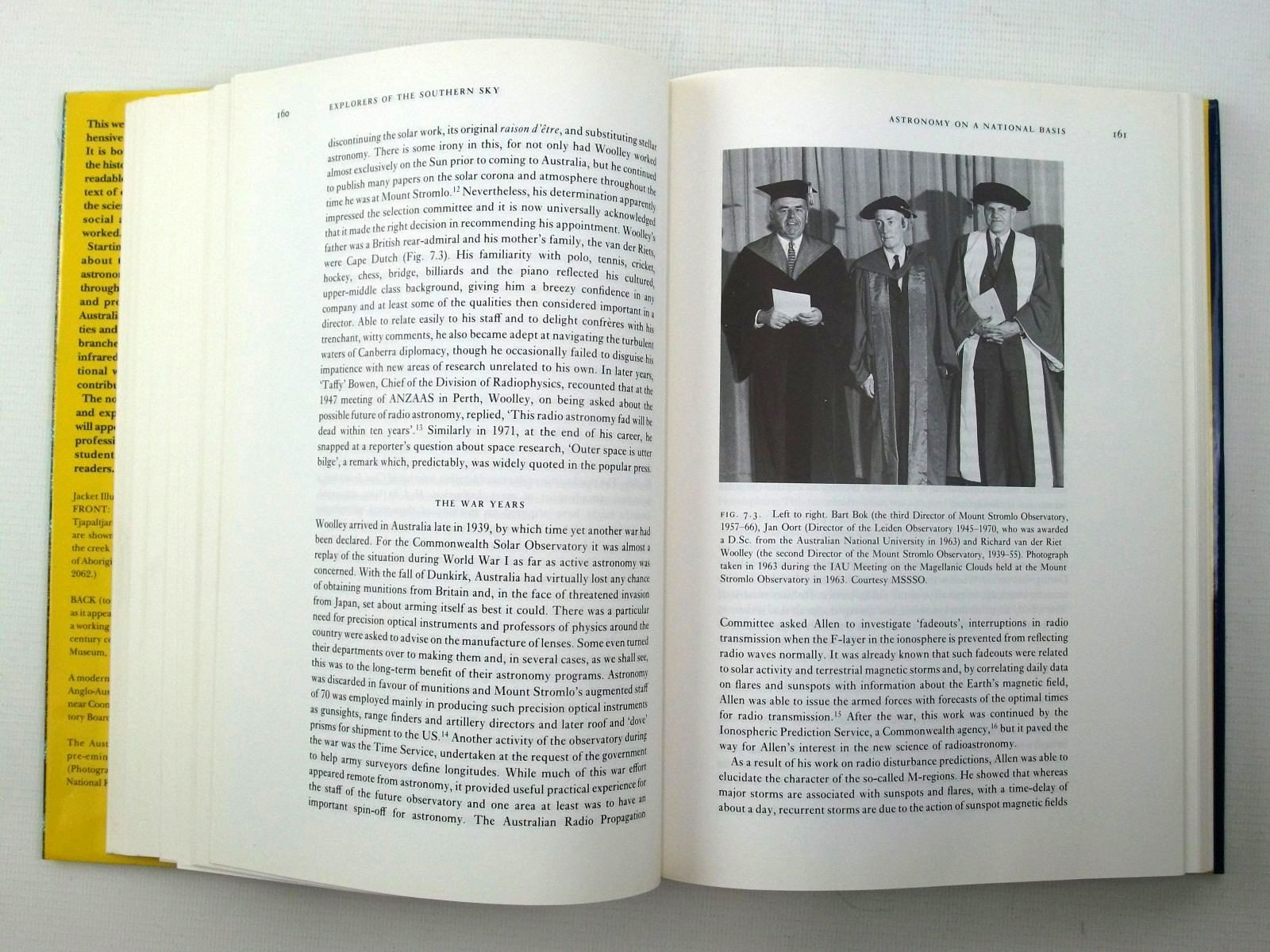 Photo of EXPLORERS OF THE SOUTHERN SKY A HISTORY OF AUSTRALIAN ASTRONOMY written by Haynes, Raymond Haynes, Roslynn Malin, David McGee, Richard published by Cambridge University Press (STOCK CODE: 2124723)  for sale by Stella & Rose's Books