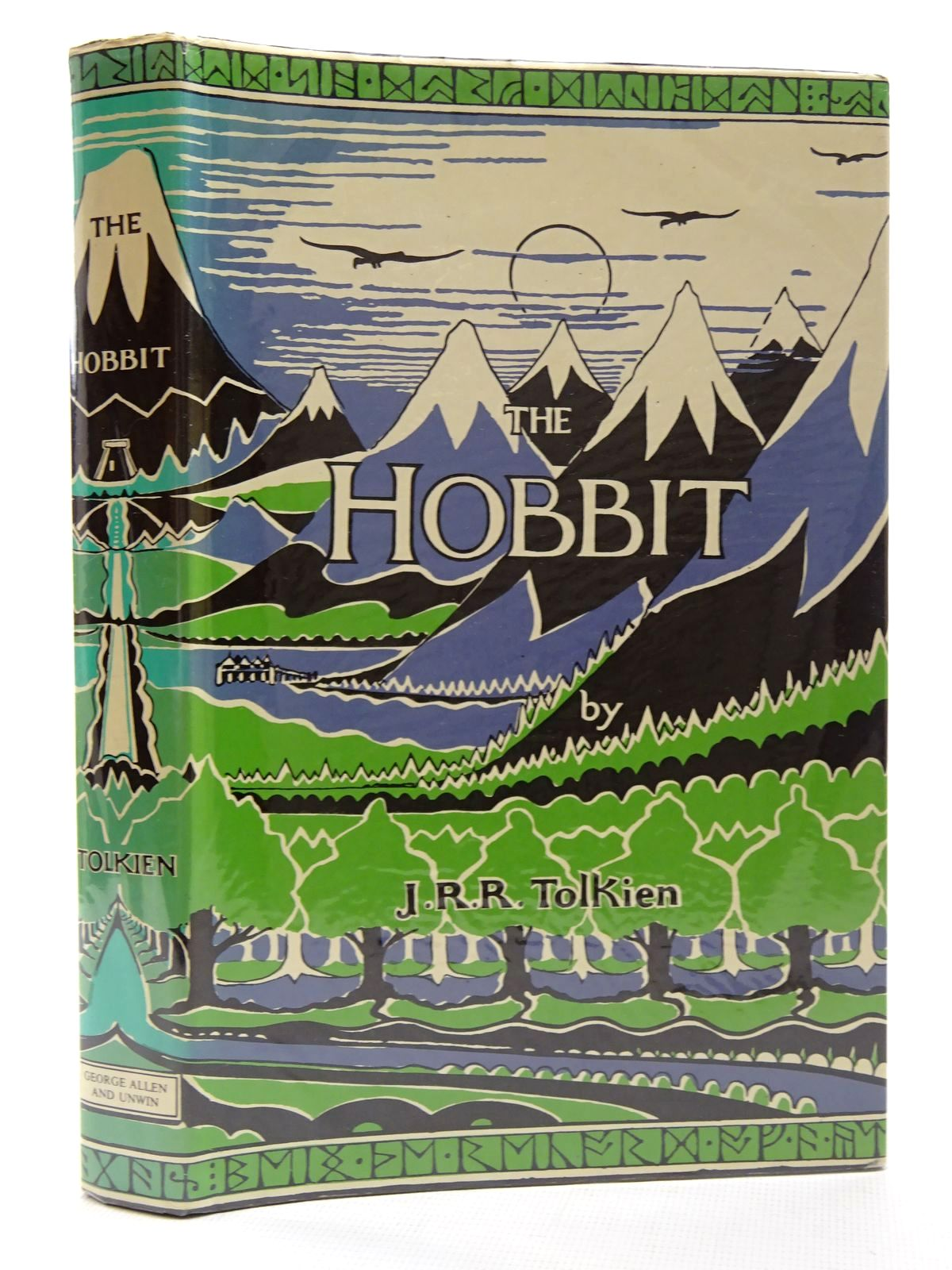 Photo of THE HOBBIT written by Tolkien, J.R.R. illustrated by Tolkien, J.R.R. published by George Allen & Unwin Ltd. (STOCK CODE: 2124727)  for sale by Stella & Rose's Books