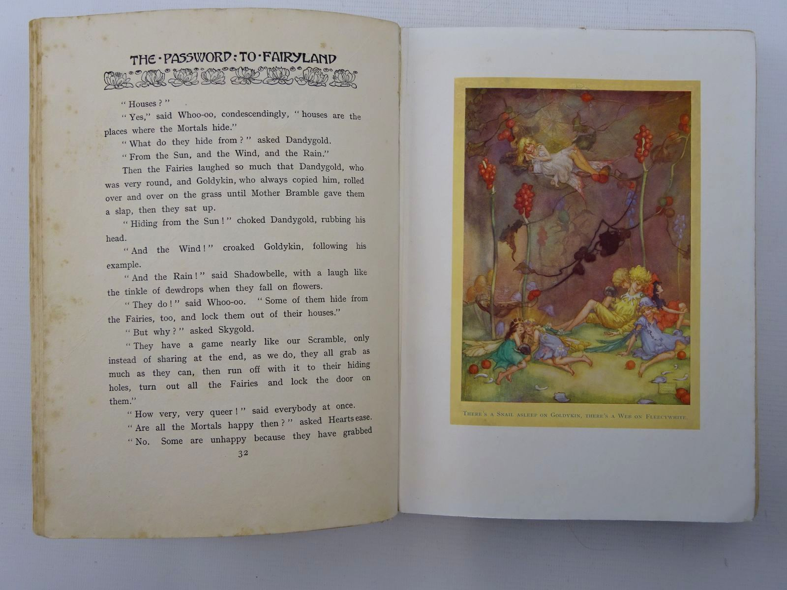 Photo of THE PASSWORD TO FAIRYLAND written by Southwart, Elizabeth illustrated by Anderson, Florence Mary published by Simpkin, Marshall, Hamilton, Kent (STOCK CODE: 2124733)  for sale by Stella & Rose's Books
