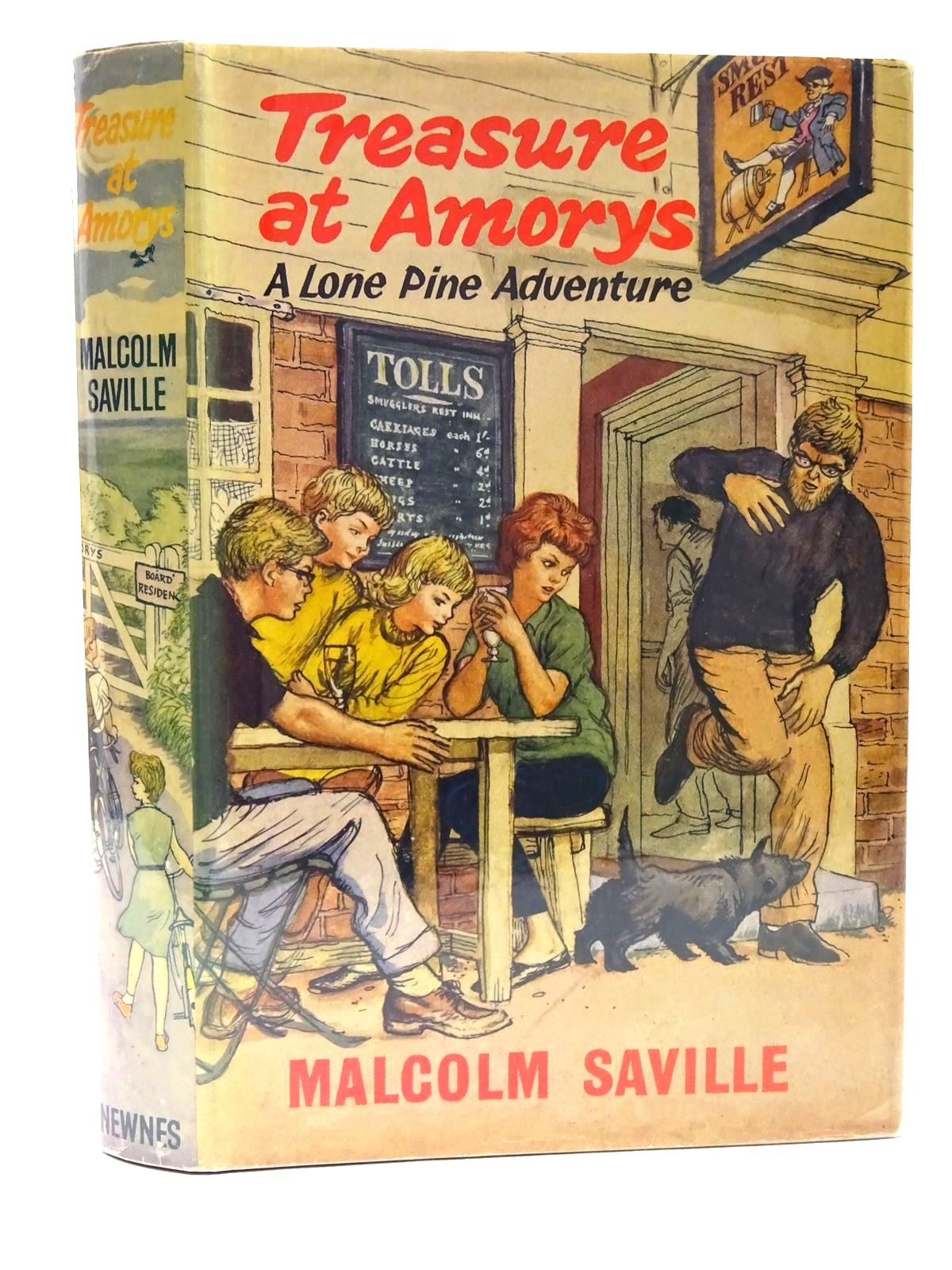 Photo of TREASURE AT AMORYS written by Saville, Malcolm illustrated by Freeman, Terence published by Newnes (STOCK CODE: 2124738)  for sale by Stella & Rose's Books