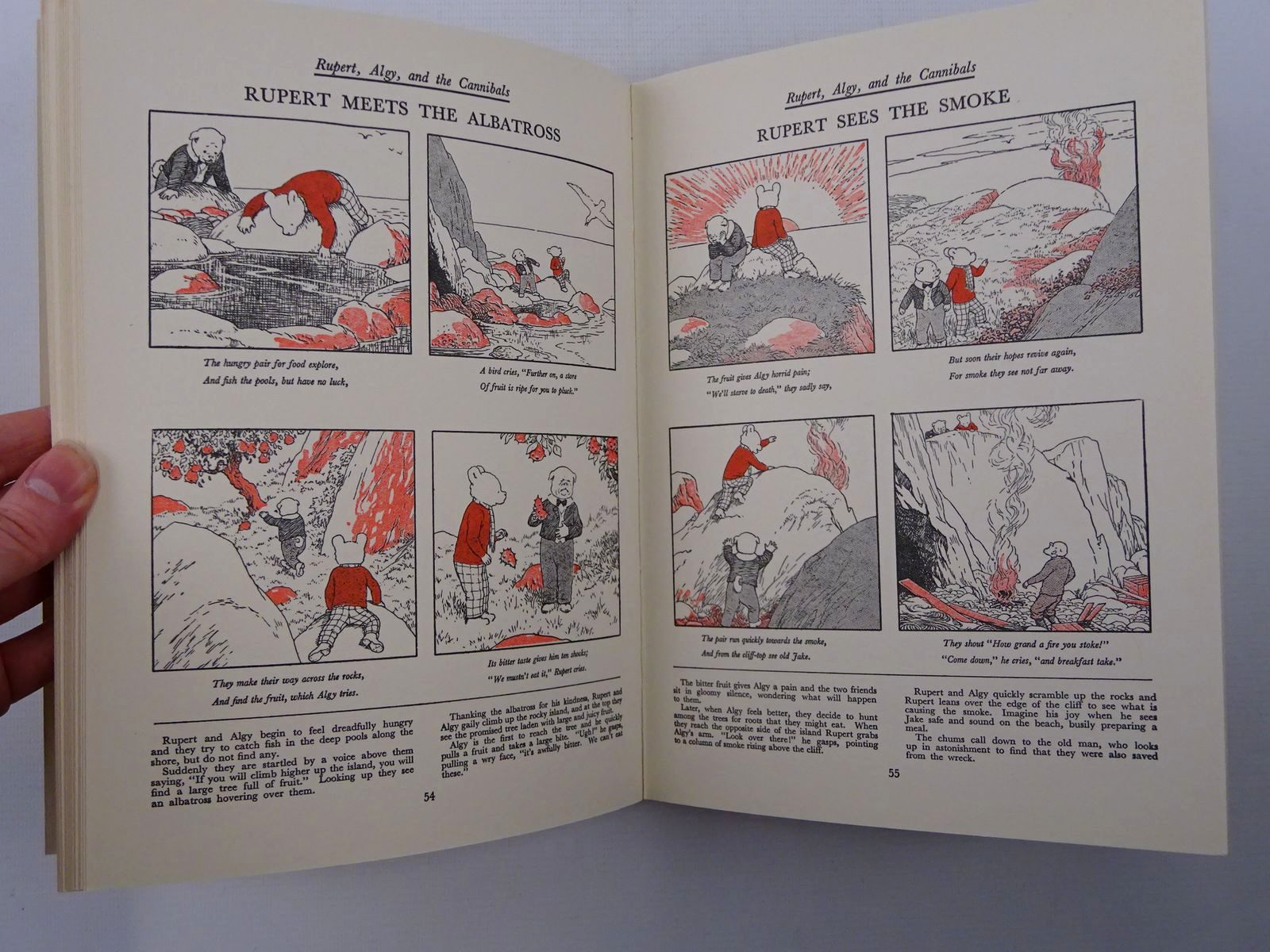Photo of RUPERT ANNUAL 1936 (FACSIMILE) - THE NEW ADVENTURES OF RUPERT written by Bestall, Alfred illustrated by Bestall, Alfred published by Daily Express (STOCK CODE: 2124742)  for sale by Stella & Rose's Books