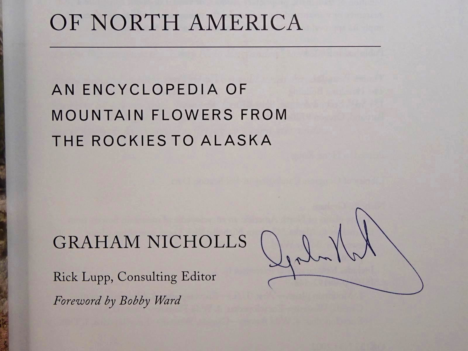 Photo of ALPINE PLANTS OF NORTH AMERICA written by Nicholls, Graham published by Timber Press (STOCK CODE: 2124794)  for sale by Stella & Rose's Books