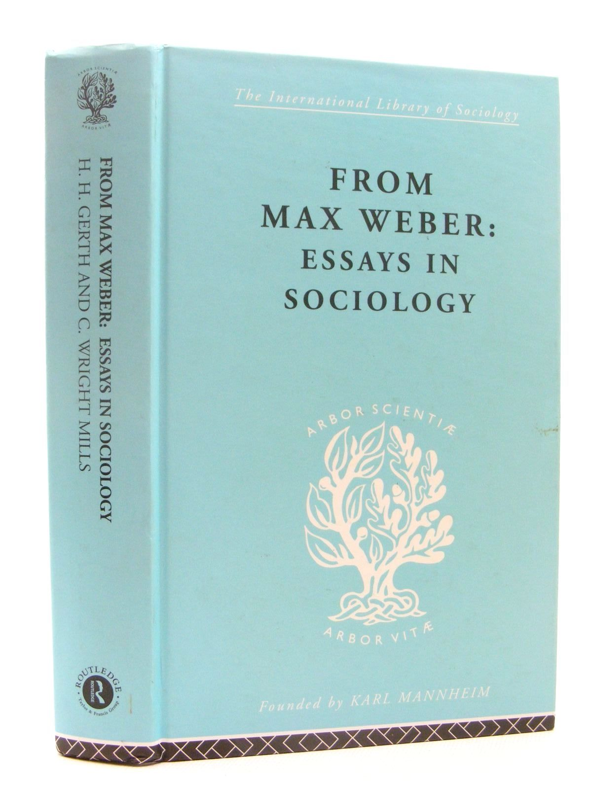 Photo of FROM MAX WEBER: ESSAYS IN SOCIOLOGY- Stock Number: 2124830