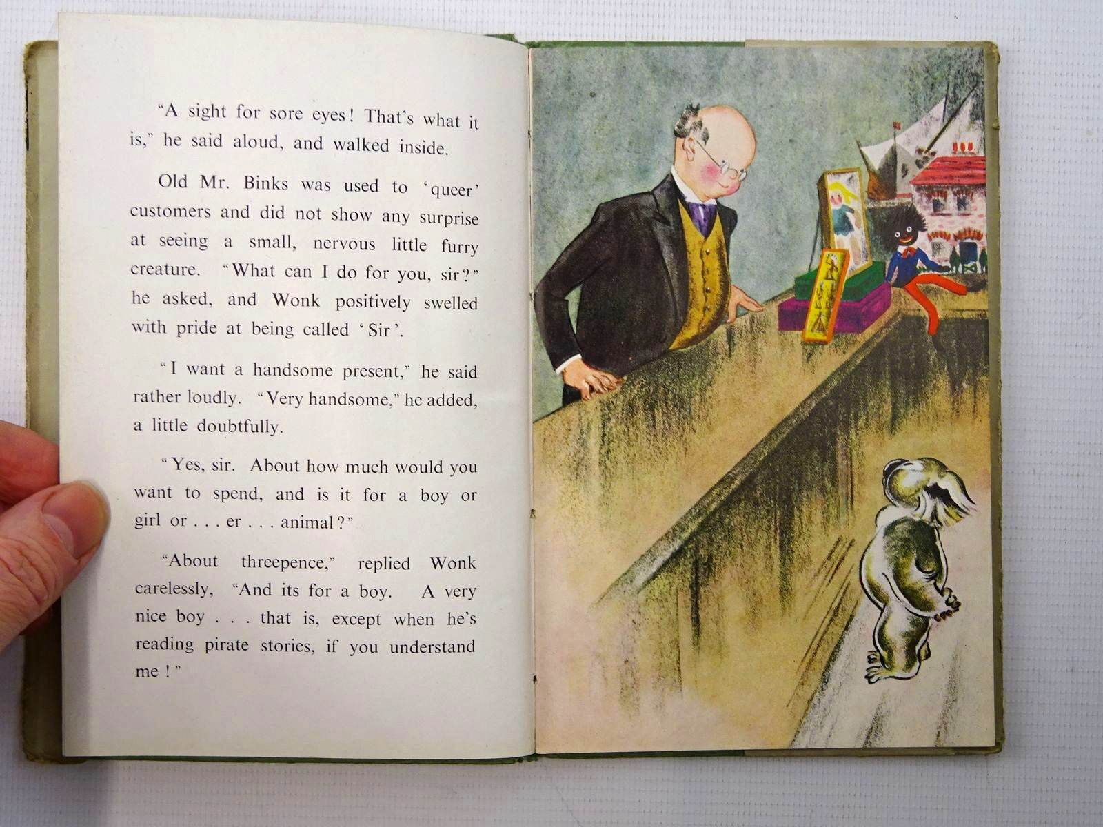 Photo of THE ADVENTURES OF WONK - THE SECRET written by Levy, Muriel illustrated by Kiddell-Monroe, Joan published by Wills & Hepworth Ltd. (STOCK CODE: 2124962)  for sale by Stella & Rose's Books