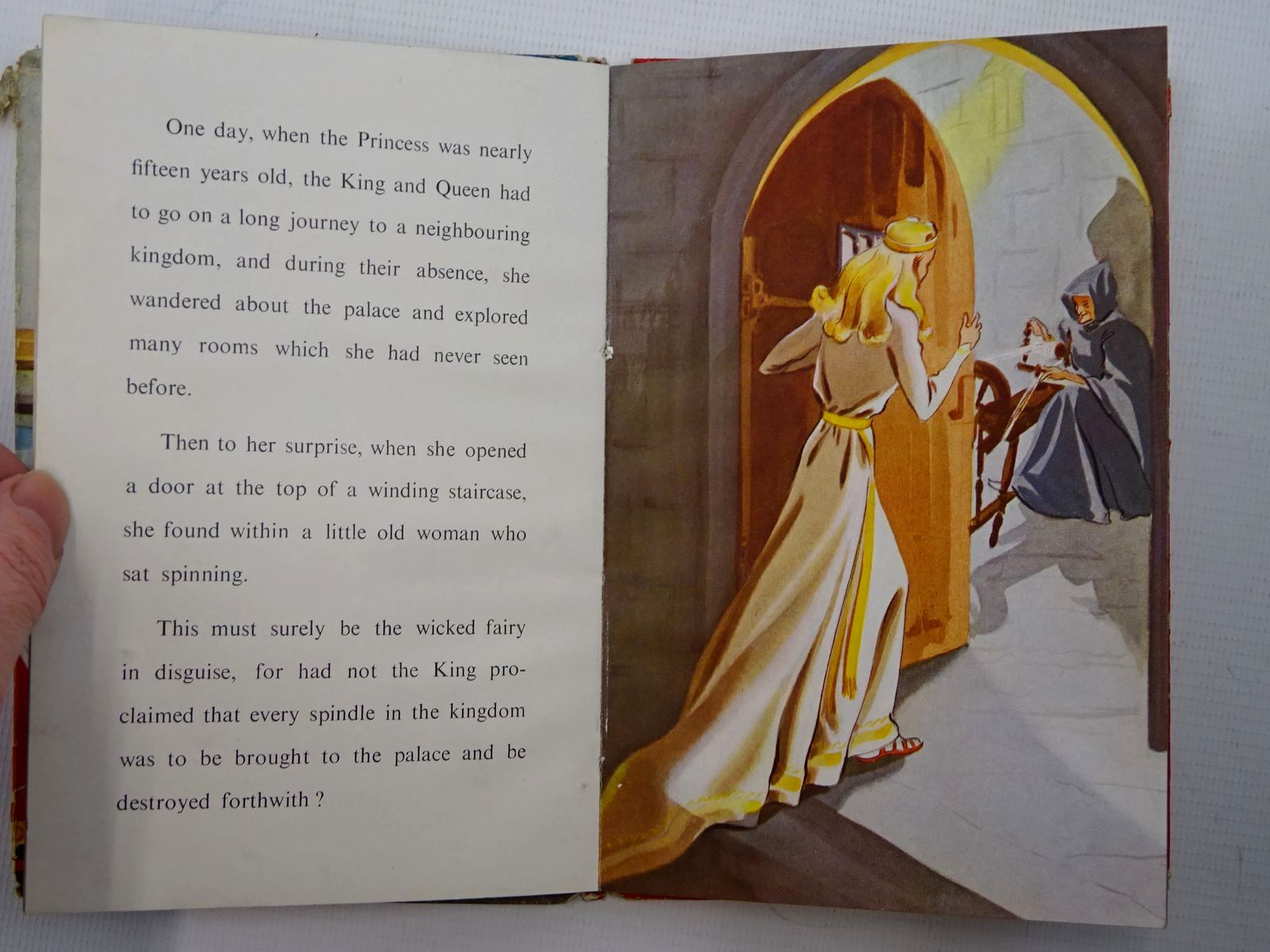 Photo of THE STORY OF SLEEPING BEAUTY written by Levy, Muriel illustrated by Bowmar, Evelyn published by Wills & Hepworth Ltd. (STOCK CODE: 2124963)  for sale by Stella & Rose's Books