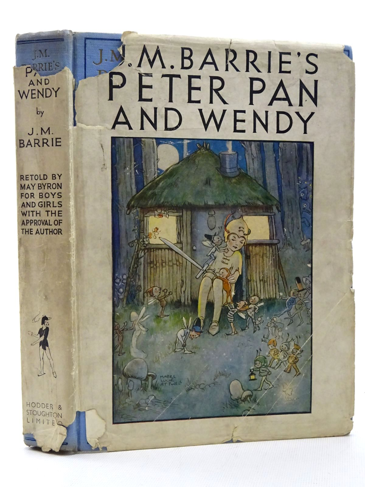Photo of PETER PAN AND WENDY written by Barrie, J.M. Byron, May illustrated by Attwell, Mabel Lucie published by Hodder & Stoughton (STOCK CODE: 2124967)  for sale by Stella & Rose's Books