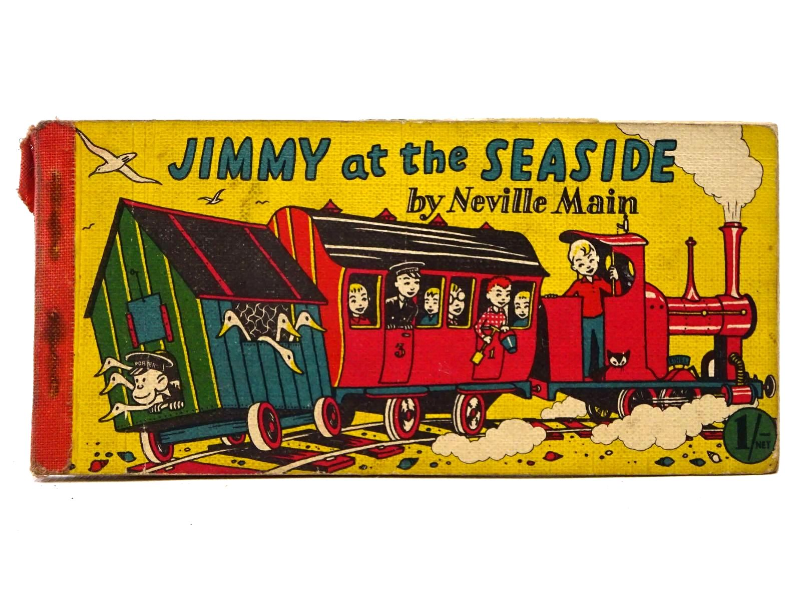 Photo of JIMMY AT THE SEASIDE written by Main, Neville published by Brockhampton Press (STOCK CODE: 2124971)  for sale by Stella & Rose's Books