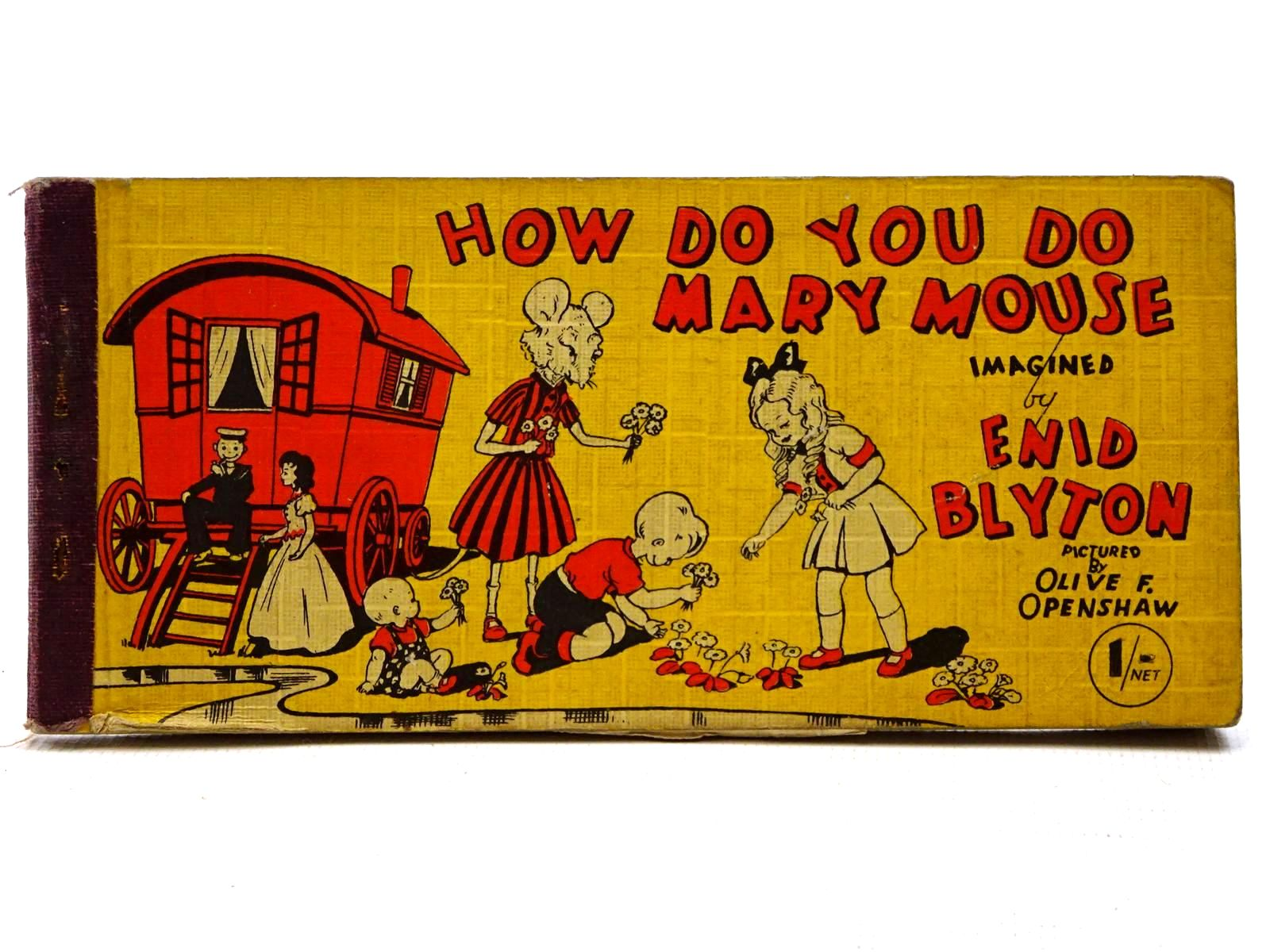 Photo of HOW DO YOU DO, MARY MOUSE? written by Blyton, Enid illustrated by Openshaw, Olive F. published by Brockhampton Press (STOCK CODE: 2124976)  for sale by Stella & Rose's Books