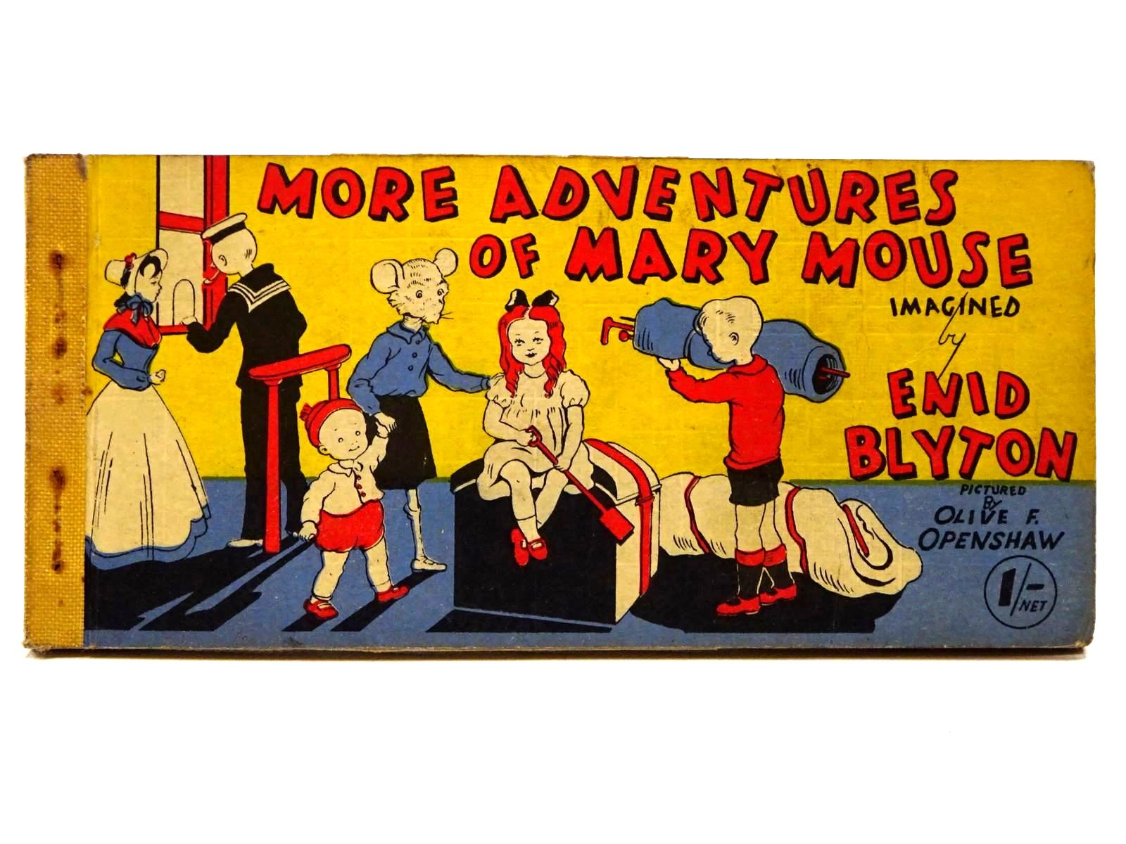 Photo of MORE ADVENTURES OF MARY MOUSE written by Blyton, Enid illustrated by Openshaw, Olive F. published by Brockhampton Press (STOCK CODE: 2124977)  for sale by Stella & Rose's Books