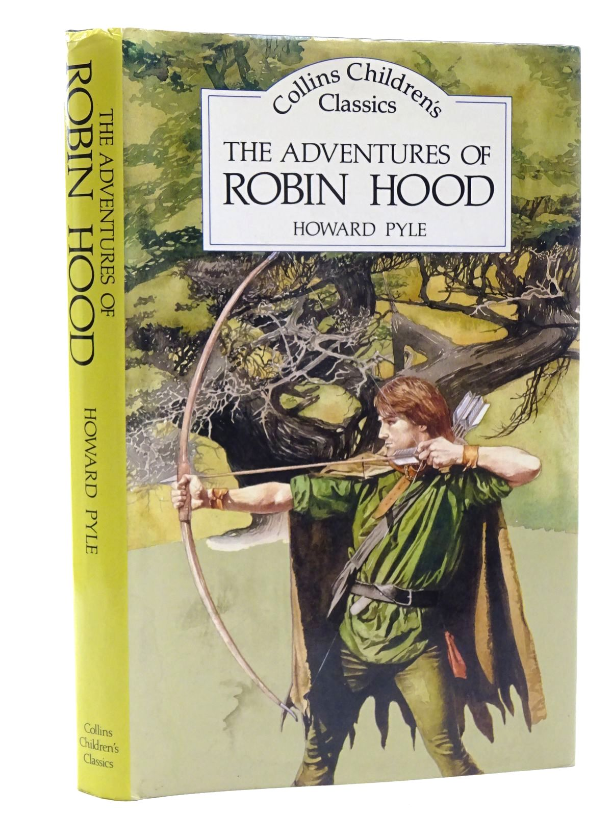 Photo of THE ADVENTURES OF ROBIN HOOD written by Pyle, Howard illustrated by Floyd, Gareth published by Collins (STOCK CODE: 2124987)  for sale by Stella & Rose's Books