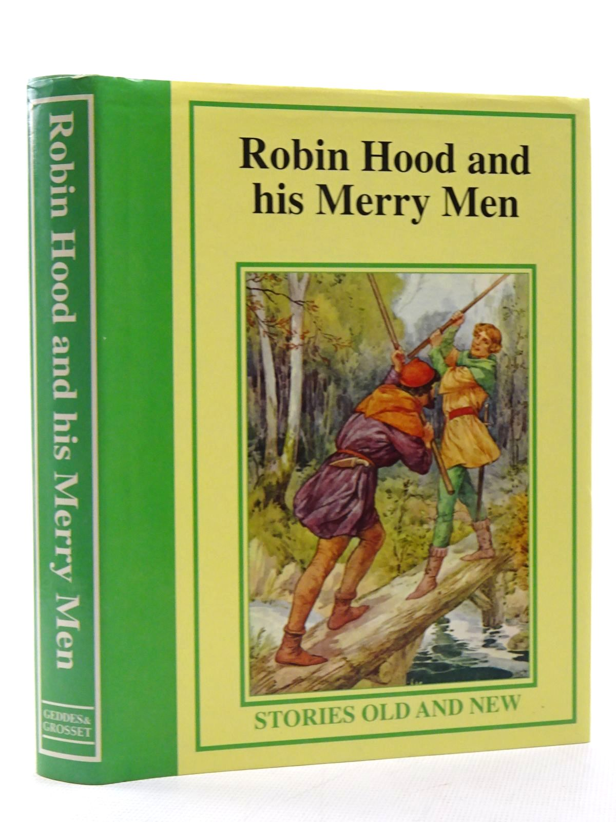 Photo of ROBIN HOOD AND HIS MERRY MEN published by Geddes & Grosset (STOCK CODE: 2124988)  for sale by Stella & Rose's Books