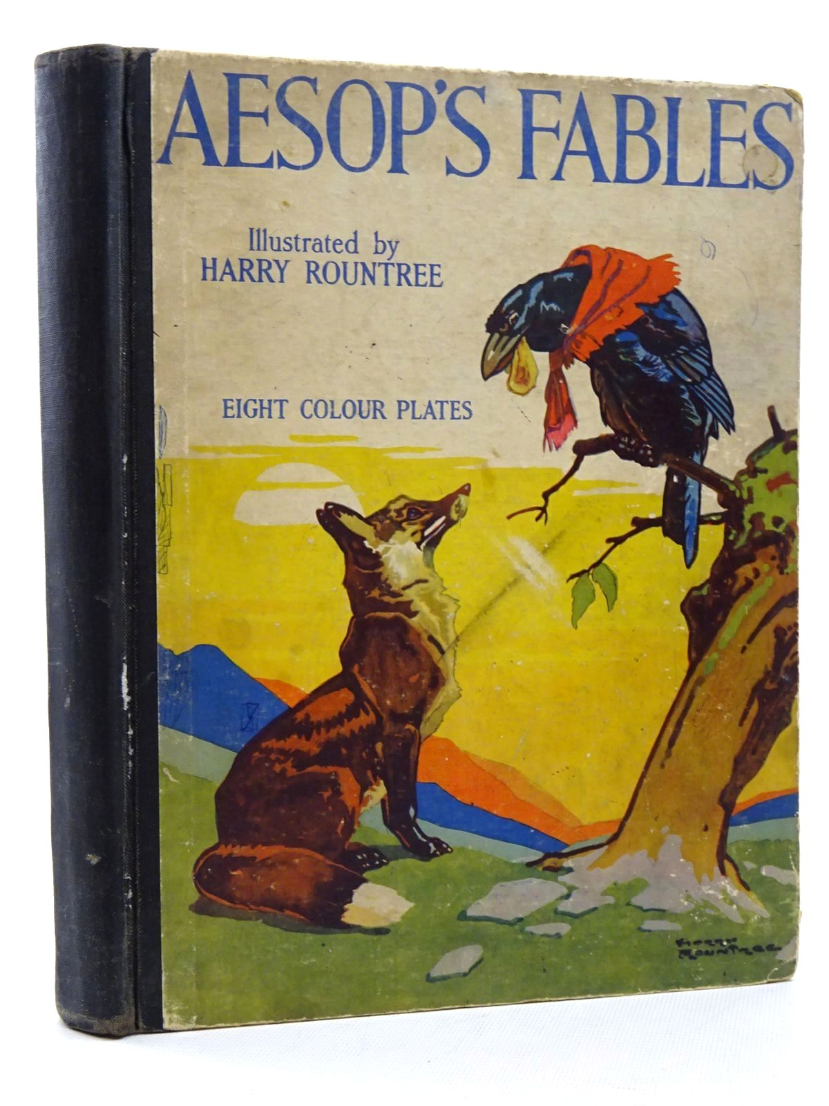 Photo of AESOP'S FABLES written by Aesop, illustrated by Rountree, Harry published by The Children's Press (STOCK CODE: 2124994)  for sale by Stella & Rose's Books