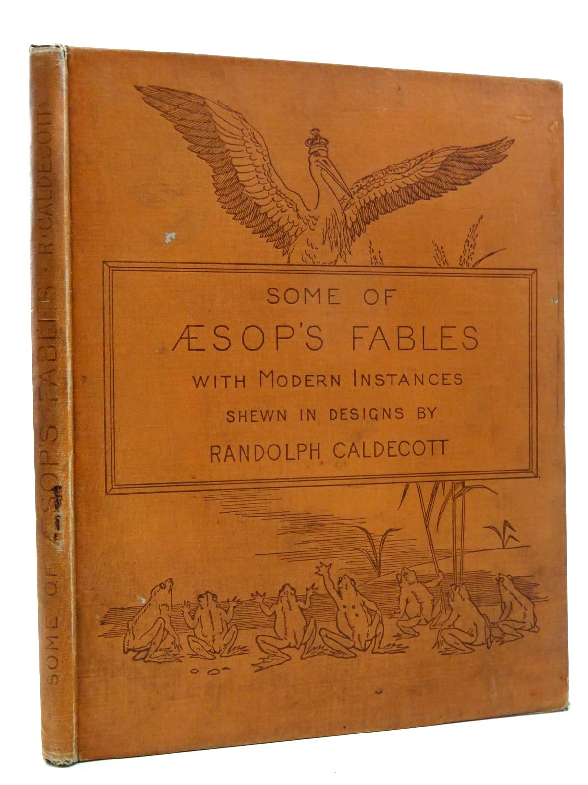 Photo of SOME OF AESOP'S FABLES written by Aesop,  Caldecott, Alfred illustrated by Caldecott, Randolph published by Macmillan & Co. (STOCK CODE: 2124995)  for sale by Stella & Rose's Books