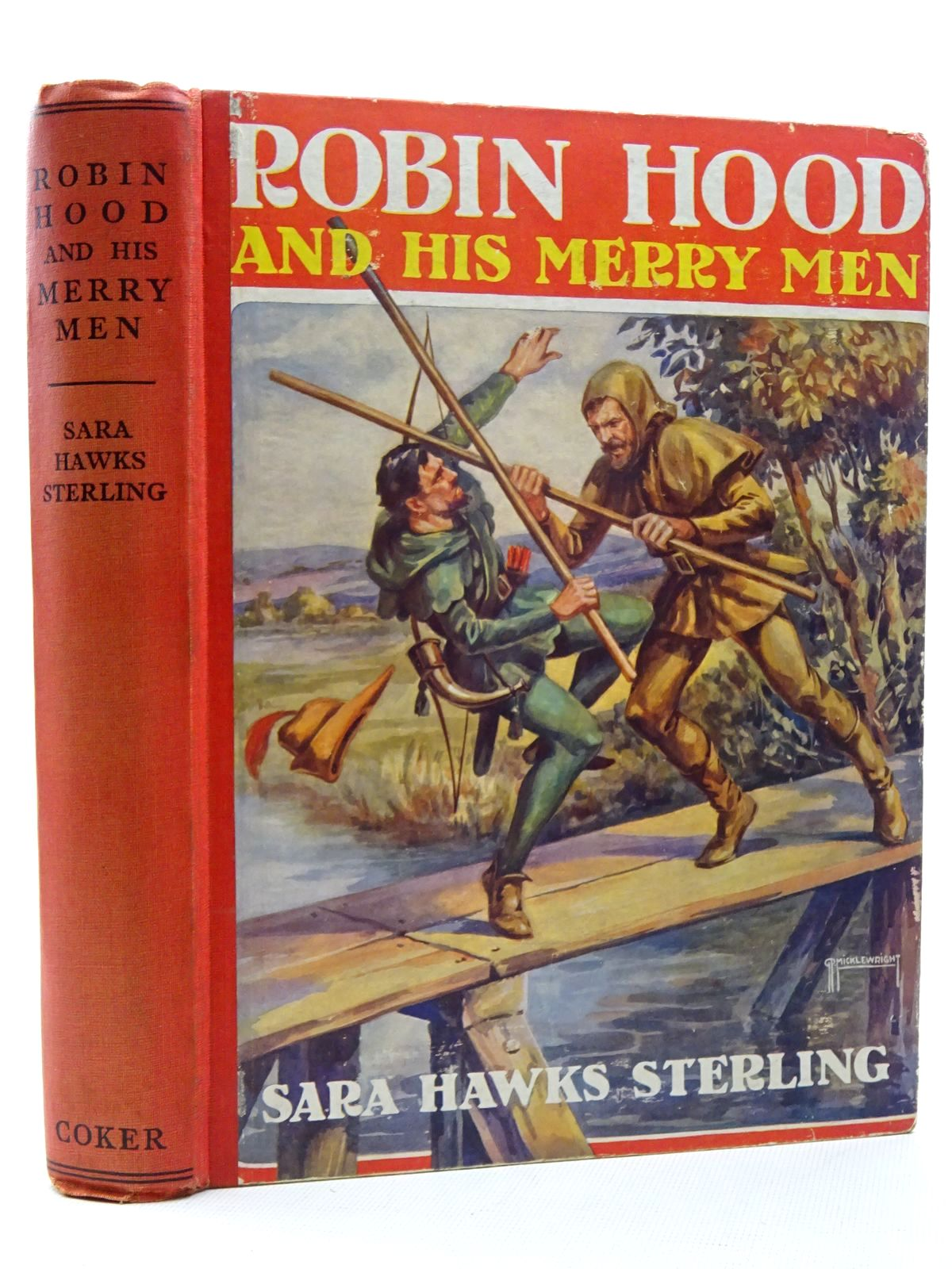 Photo of ROBIN HOOD AND HIS MERRY MEN written by Sterling, Sara Hawks illustrated by Wheelwright, Rowland published by J. Coker & Co. Ltd. (STOCK CODE: 2125029)  for sale by Stella & Rose's Books