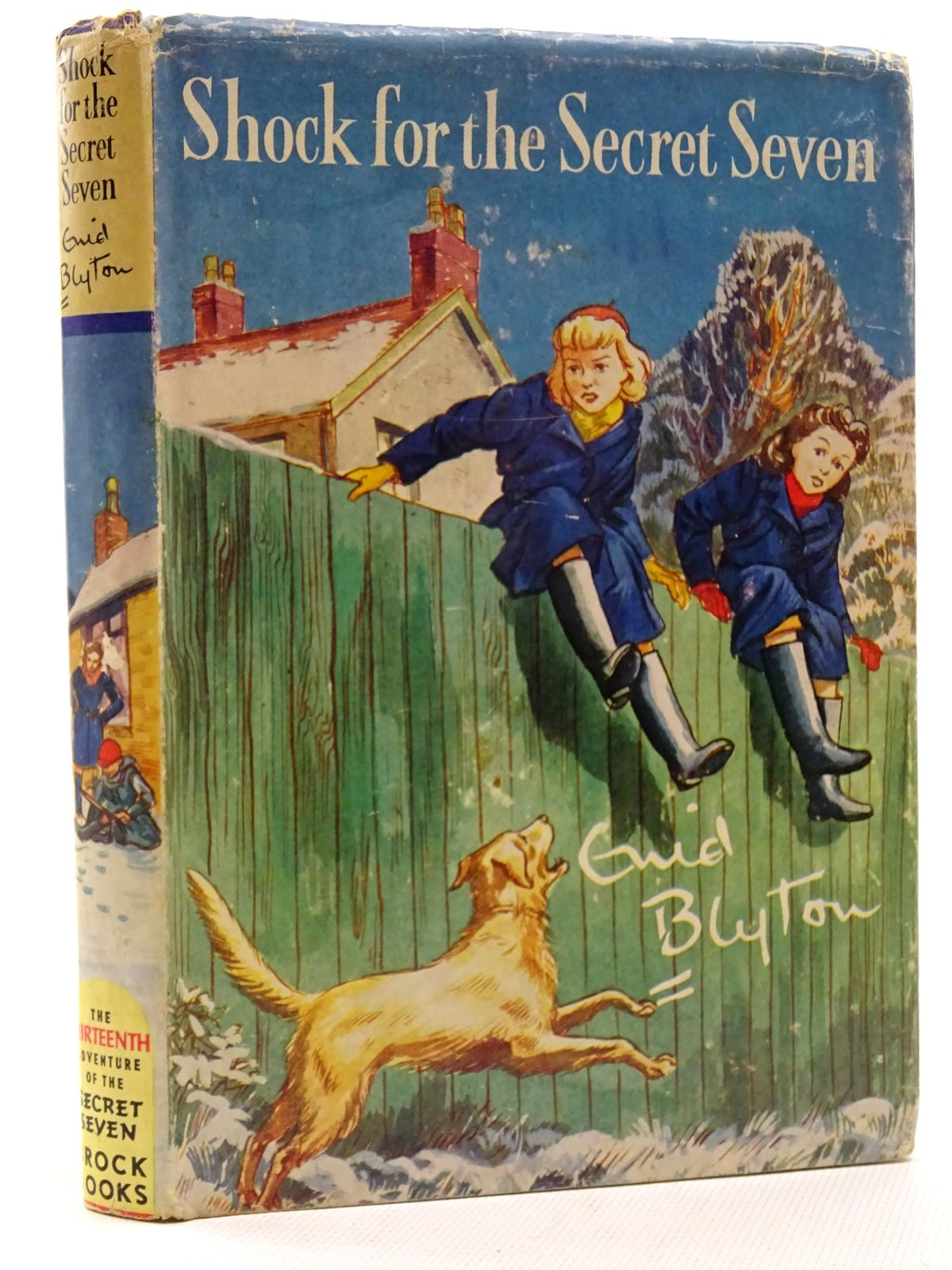 Photo of SHOCK FOR THE SECRET SEVEN written by Blyton, Enid illustrated by Sharrocks, Burgess published by Brockhampton Press (STOCK CODE: 2125047)  for sale by Stella & Rose's Books