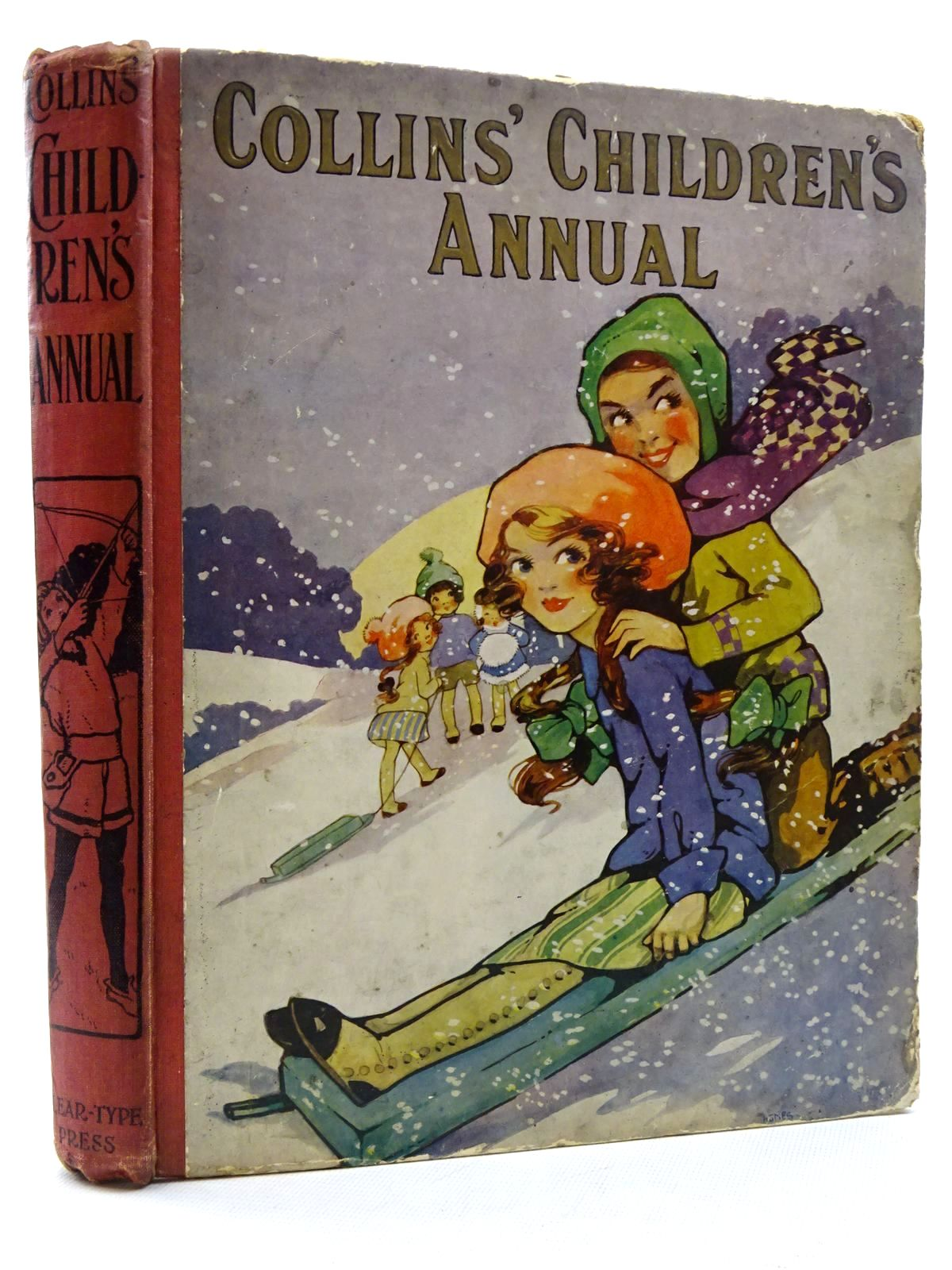 Photo of COLLINS' CHILDREN'S ANNUAL written by Tynan, Katharine Chaundler, Christine Talbot, Ethel Oldmeadow, Katharine et al, illustrated by Appleton, Honor C. Dixon, A.A. Richardson, Agnes Williams, R. James et al., published by Collins Clear-Type Press (STOCK CODE: 2125067)  for sale by Stella & Rose's Books