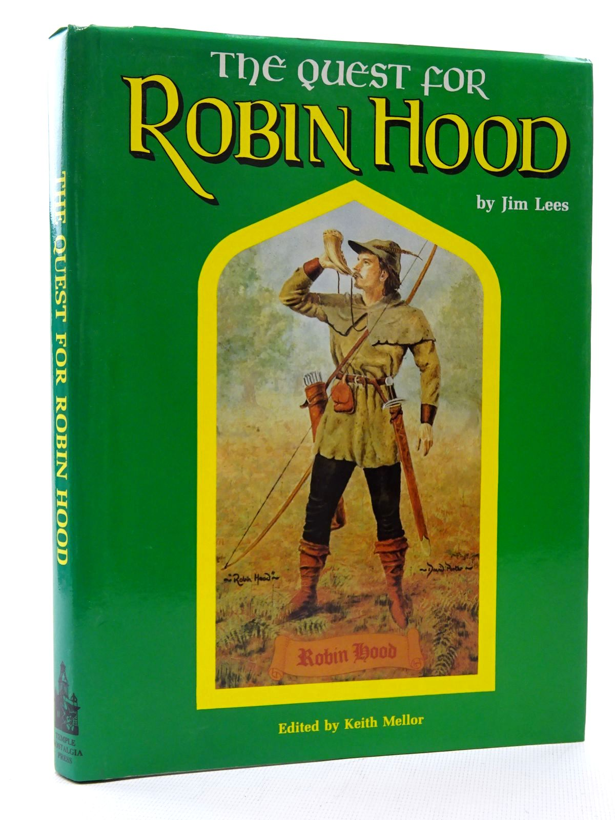 Photo of THE QUEST FOR ROBIN HOOD written by Lees, Jim<br />Mellor, Keith published by Temple Nostalgia (STOCK CODE: 2125077)  for sale by Stella & Rose's Books