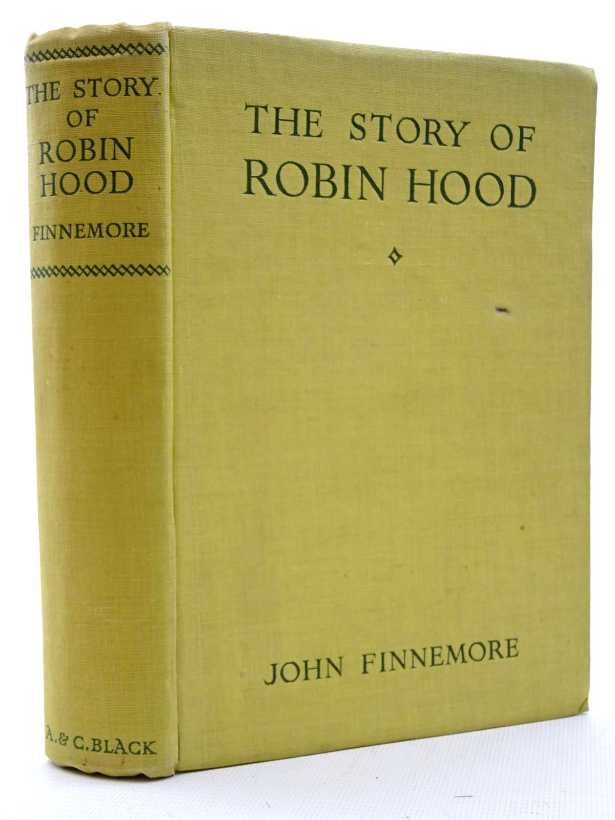 Photo of THE STORY OF ROBIN HOOD AND HIS MERRY MEN written by Finnemore, John illustrated by Stewart, Allan published by A. & C. Black Ltd. (STOCK CODE: 2125083)  for sale by Stella & Rose's Books
