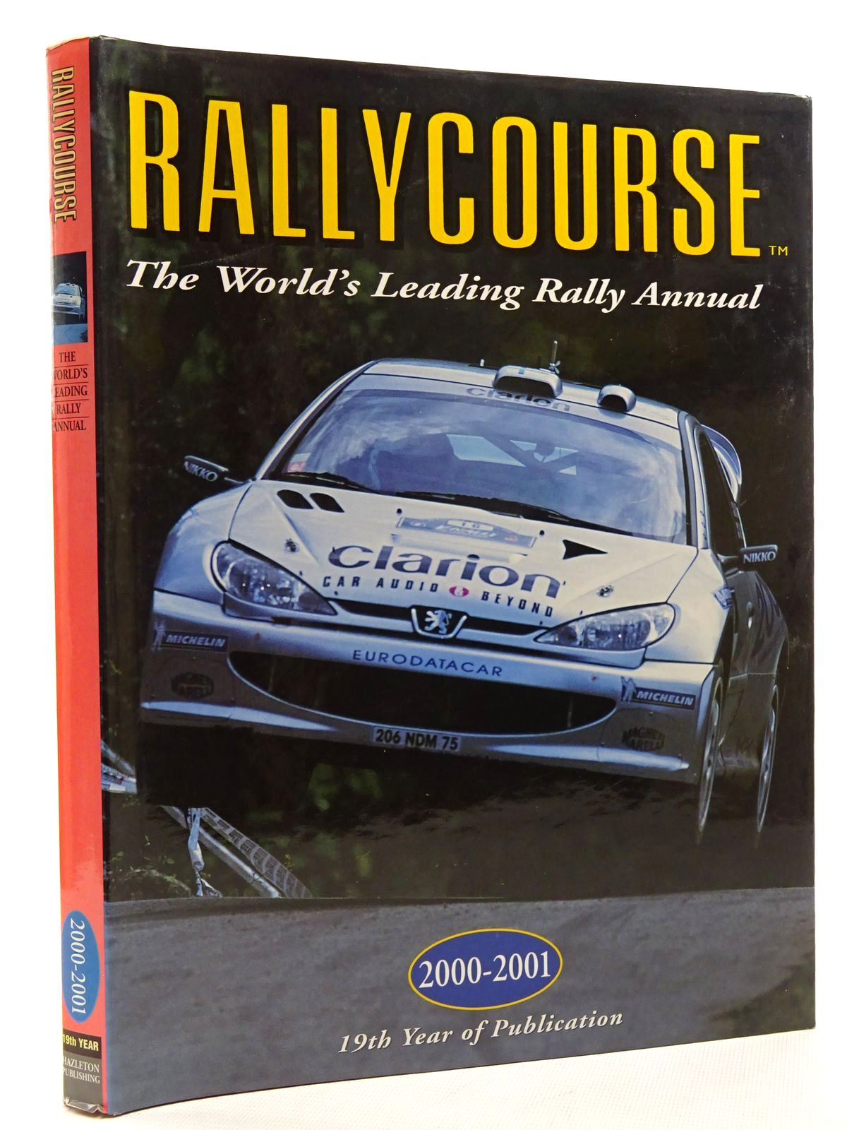 Photo of RALLYCOURSE 2000-2001 written by Williams, David published by Hazleton Publishing (STOCK CODE: 2125089)  for sale by Stella & Rose's Books