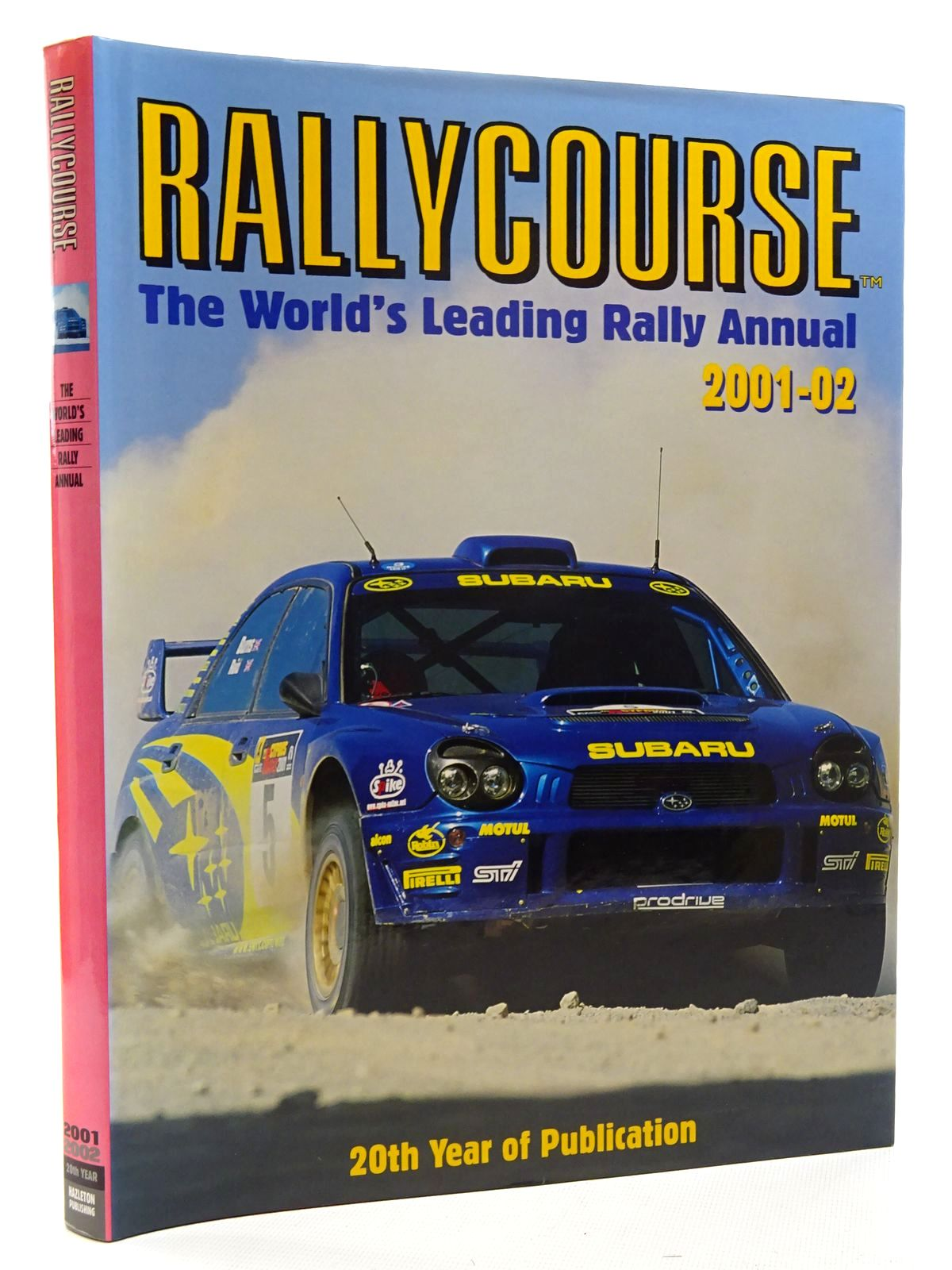 Photo of RALLYCOURSE 2001-2002 written by Williams, David published by Hazleton Publishing (STOCK CODE: 2125090)  for sale by Stella & Rose's Books