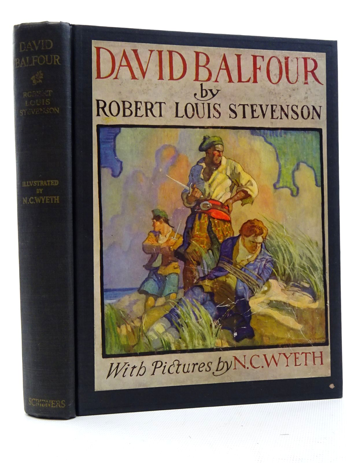 Photo of DAVID BALFOUR written by Stevenson, Robert Louis illustrated by Wyeth, N.C. published by Charles Scribner's Sons (STOCK CODE: 2125095)  for sale by Stella & Rose's Books