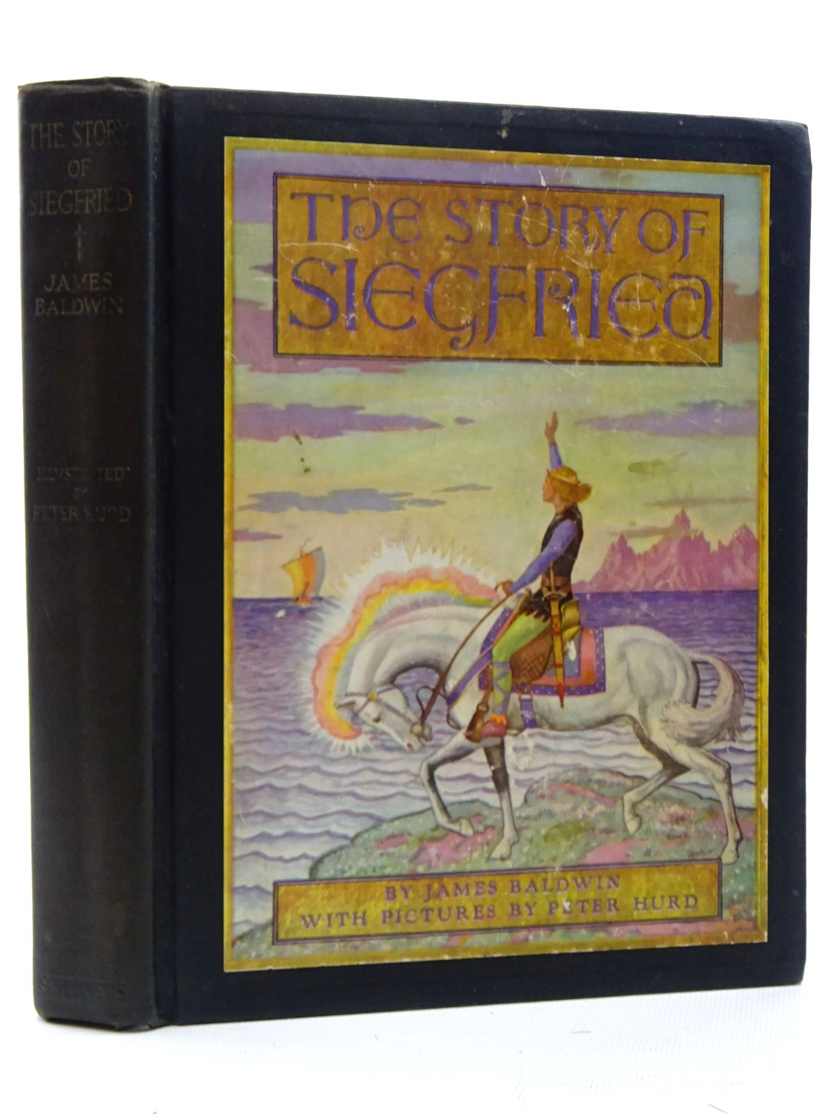 Photo of THE STORY OF SIEGFRIED written by Baldwin, James illustrated by Hurd, Peter published by Charles Scribner's Sons (STOCK CODE: 2125097)  for sale by Stella & Rose's Books