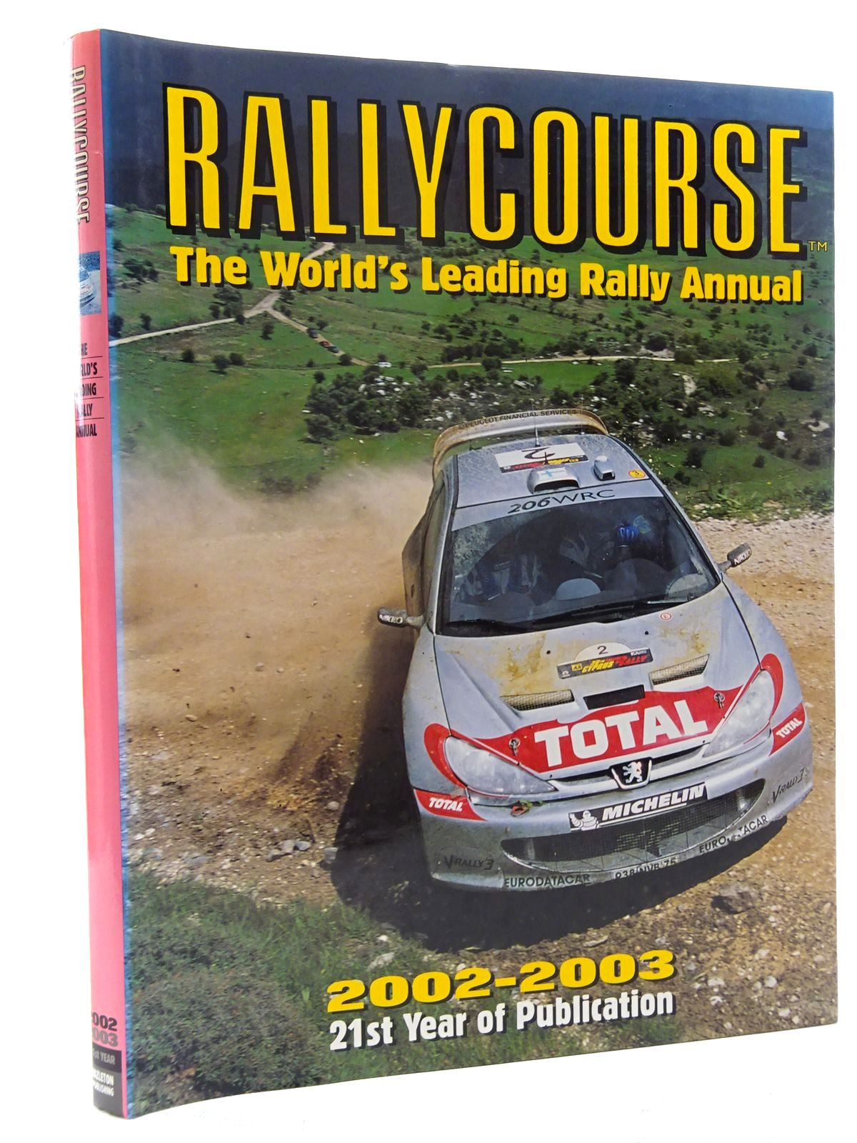 Photo of RALLYCOURSE 2002-2003 written by Williams, David published by Hazleton Publishing (STOCK CODE: 2125146)  for sale by Stella & Rose's Books