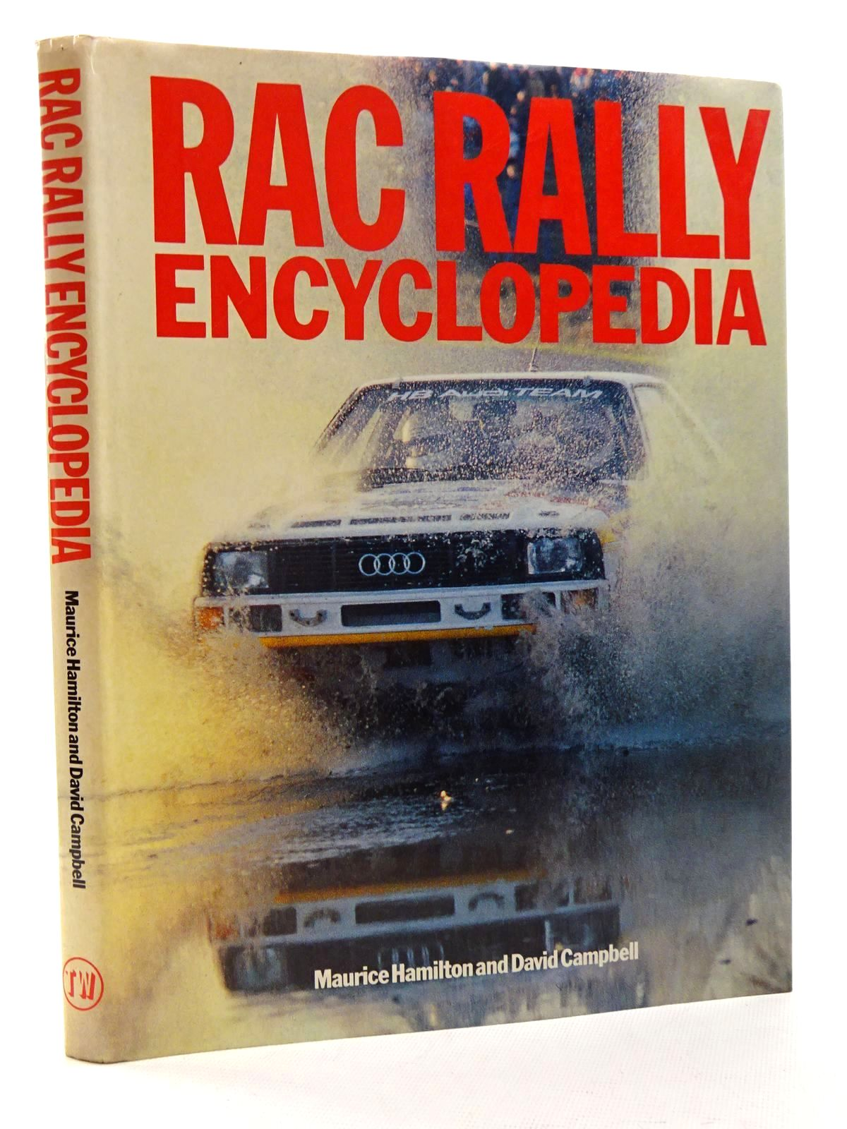 Photo of RAC RALLY ENCYCLOPEDIA written by Hamilton, Maurice<br />Campbell, David published by Tw Publications (STOCK CODE: 2125147)  for sale by Stella & Rose's Books